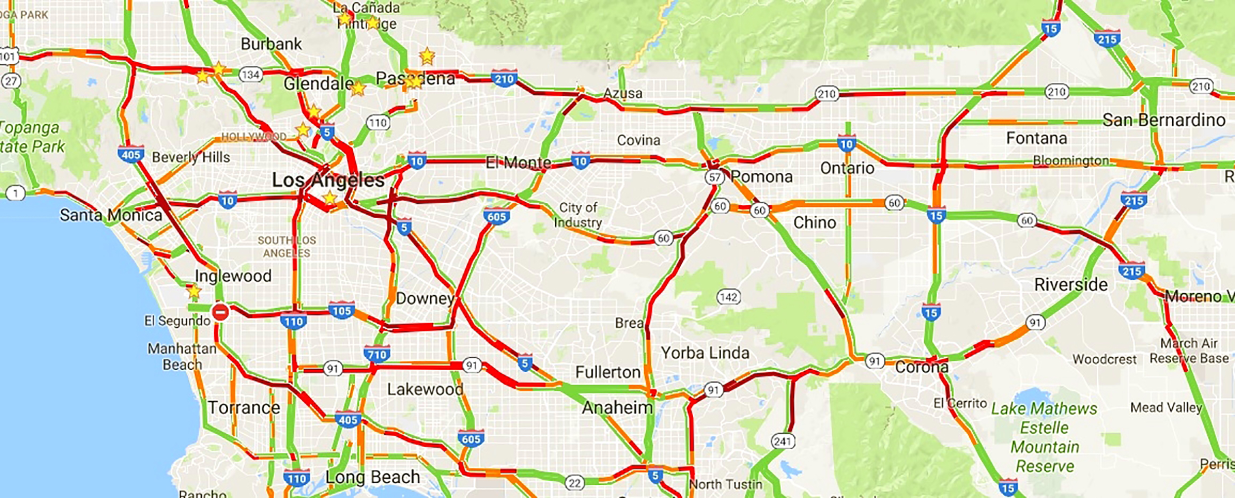 IMAGE: Los Angeles traffic