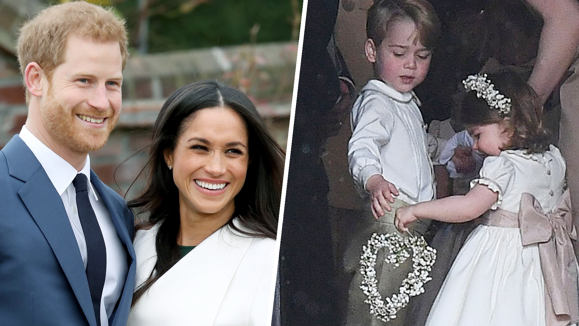 Prince Harry Wedding.Will Prince George Princess Charlotte Play Roles In Prince Harry S