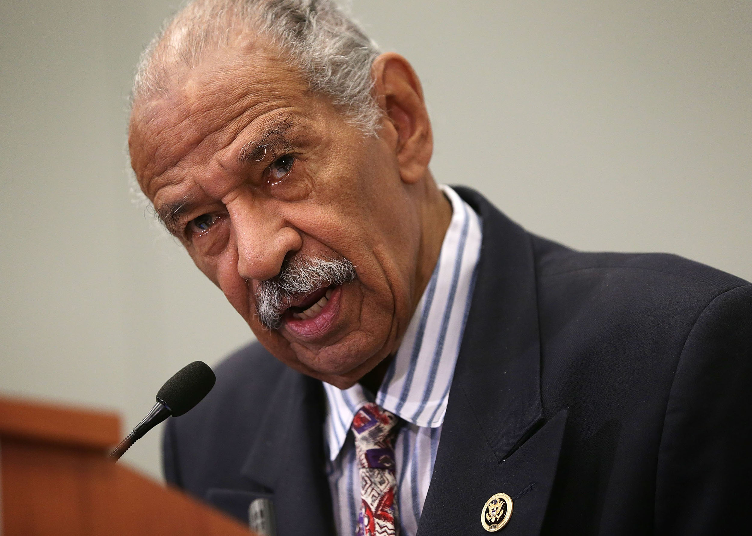 Conyers' seat in Congress won't be filled for almost a year