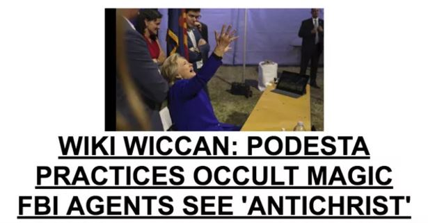 Drudge boosts occult story