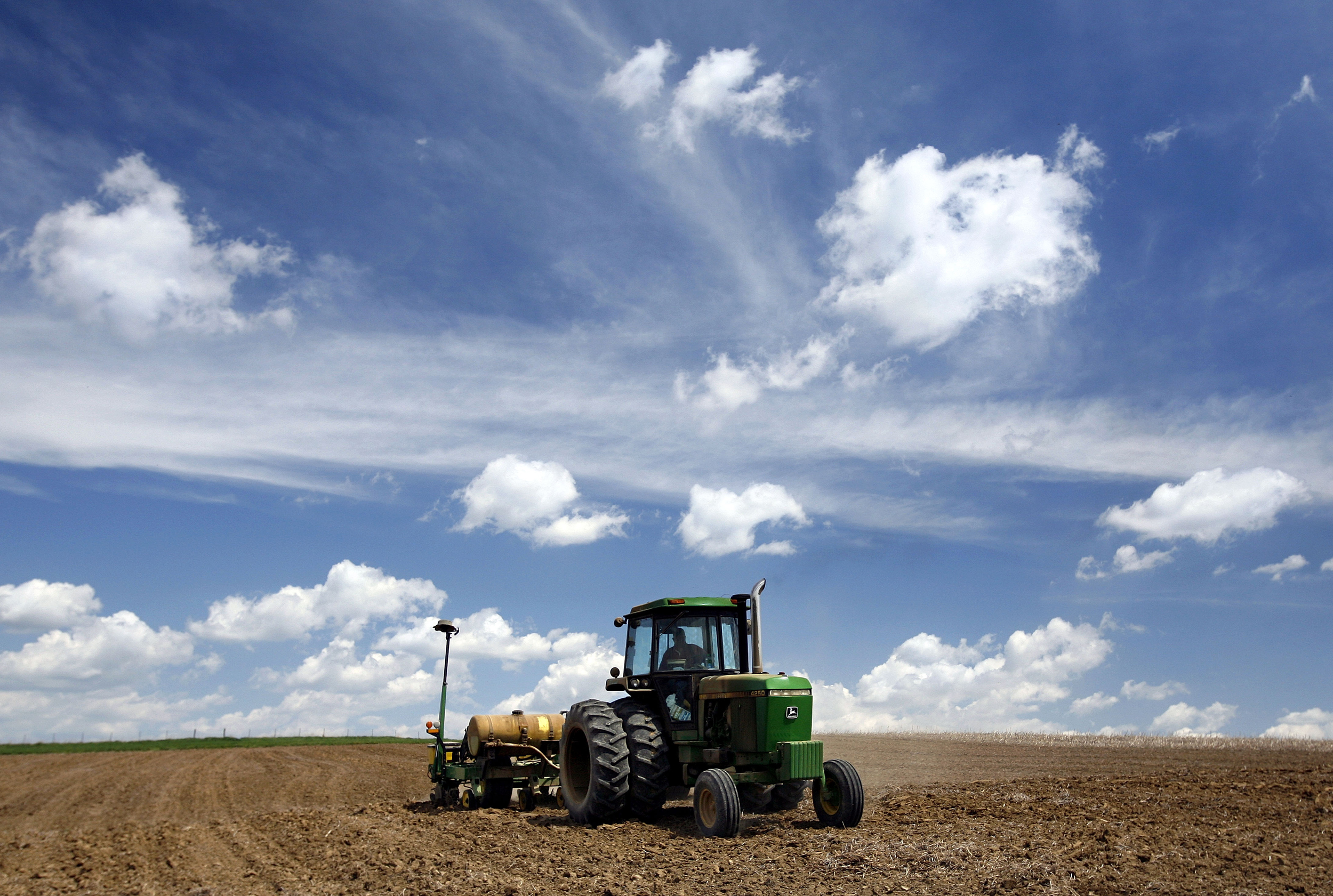Image: Farmers Plant Corn To Take Advantage Of Prices Driven Up By Ethanol