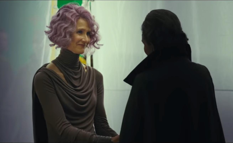 Image: Laura Dern in Star Wars: The Last Jedi