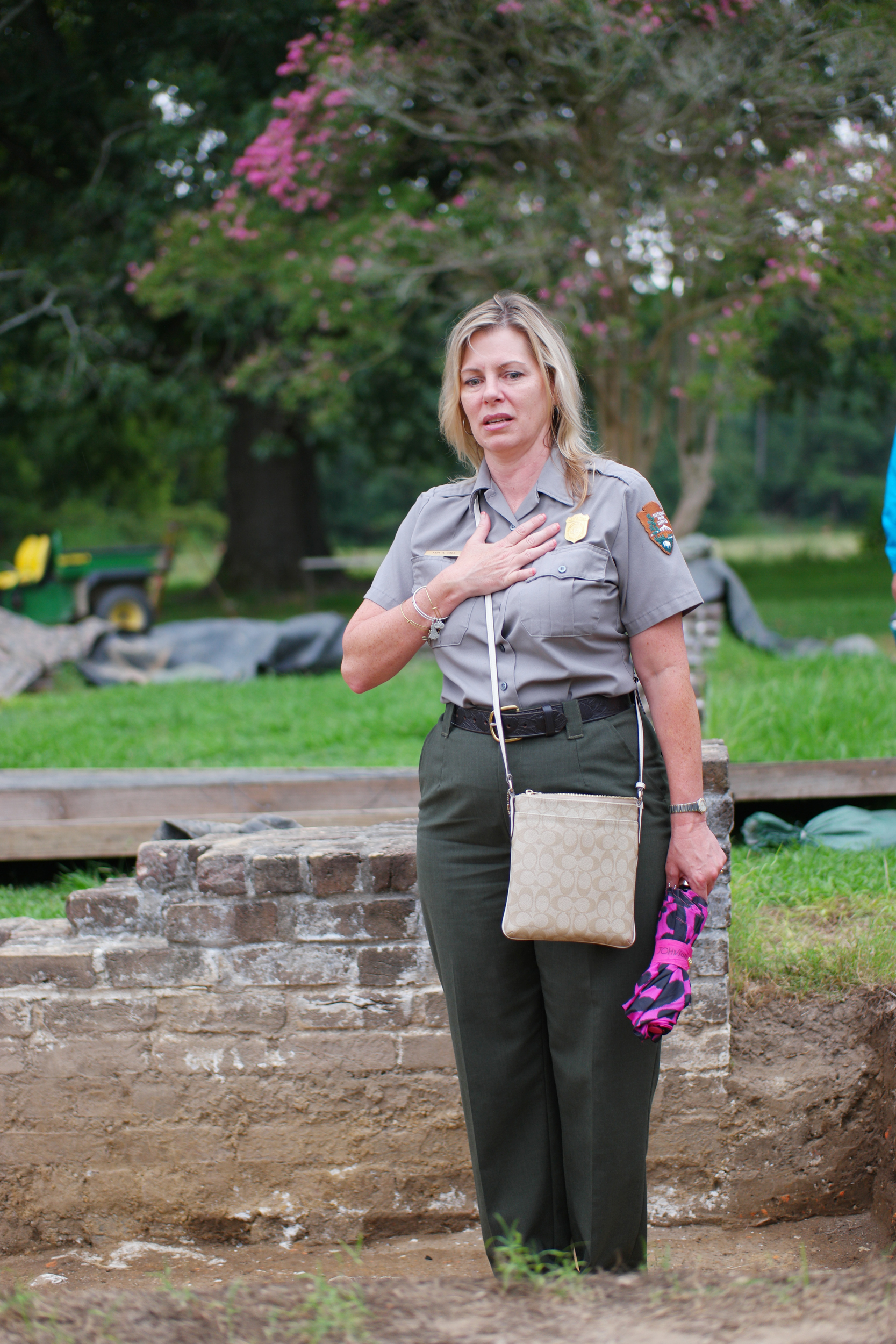 Image: Kym Hall, the Superintendent for Colonial National Historical Park.