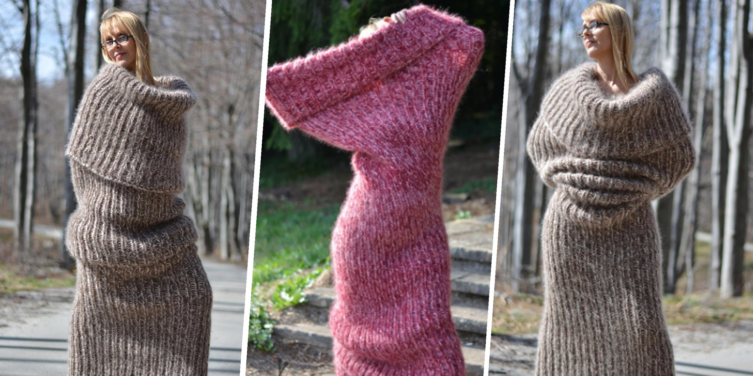 Dukyana's floor-length 'tube sock' scarf goes viral | 2400 x 1200 jpeg 1705kB