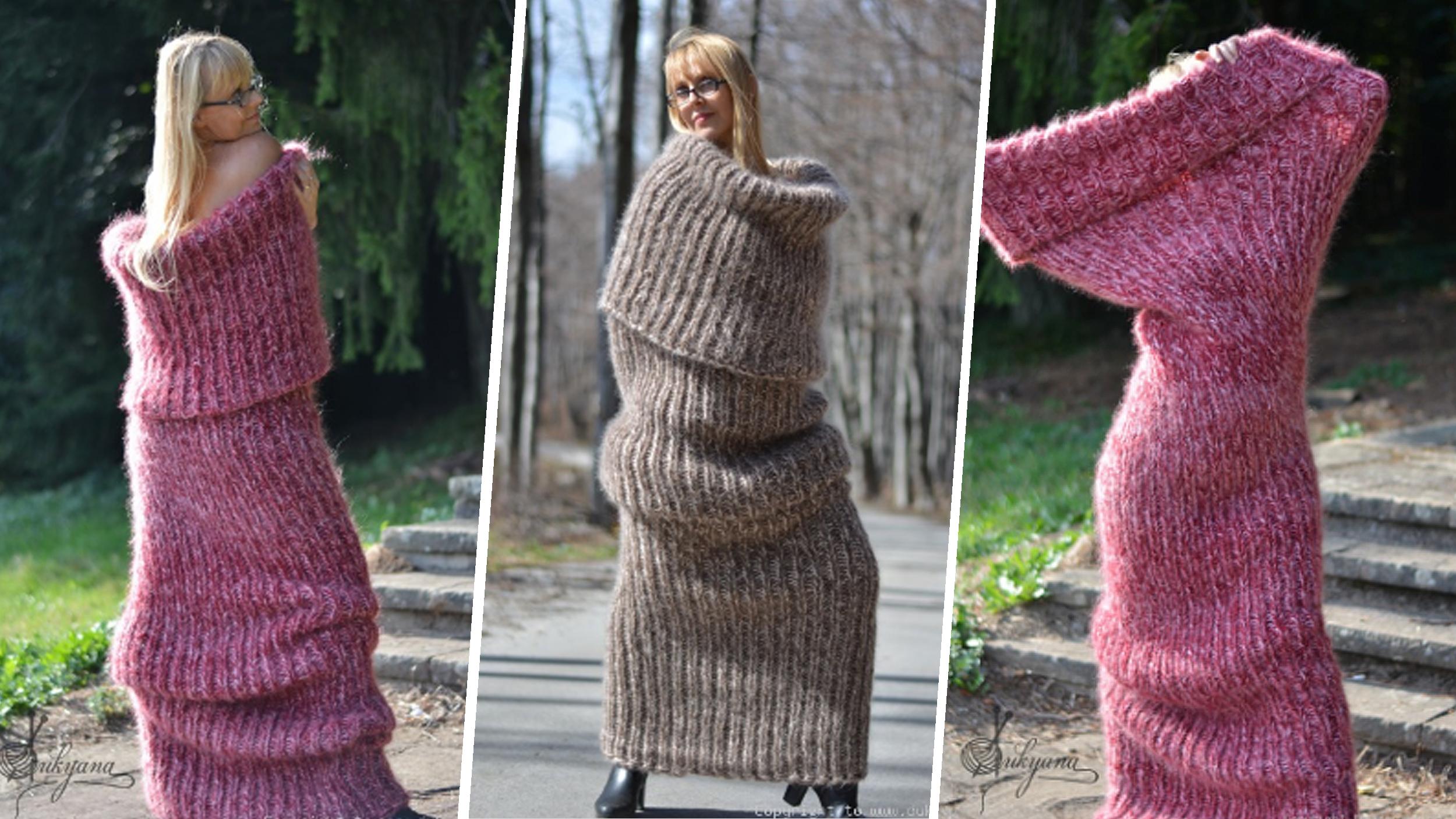 Dukyana\'s floor-length \'tube sock\' scarf goes viral