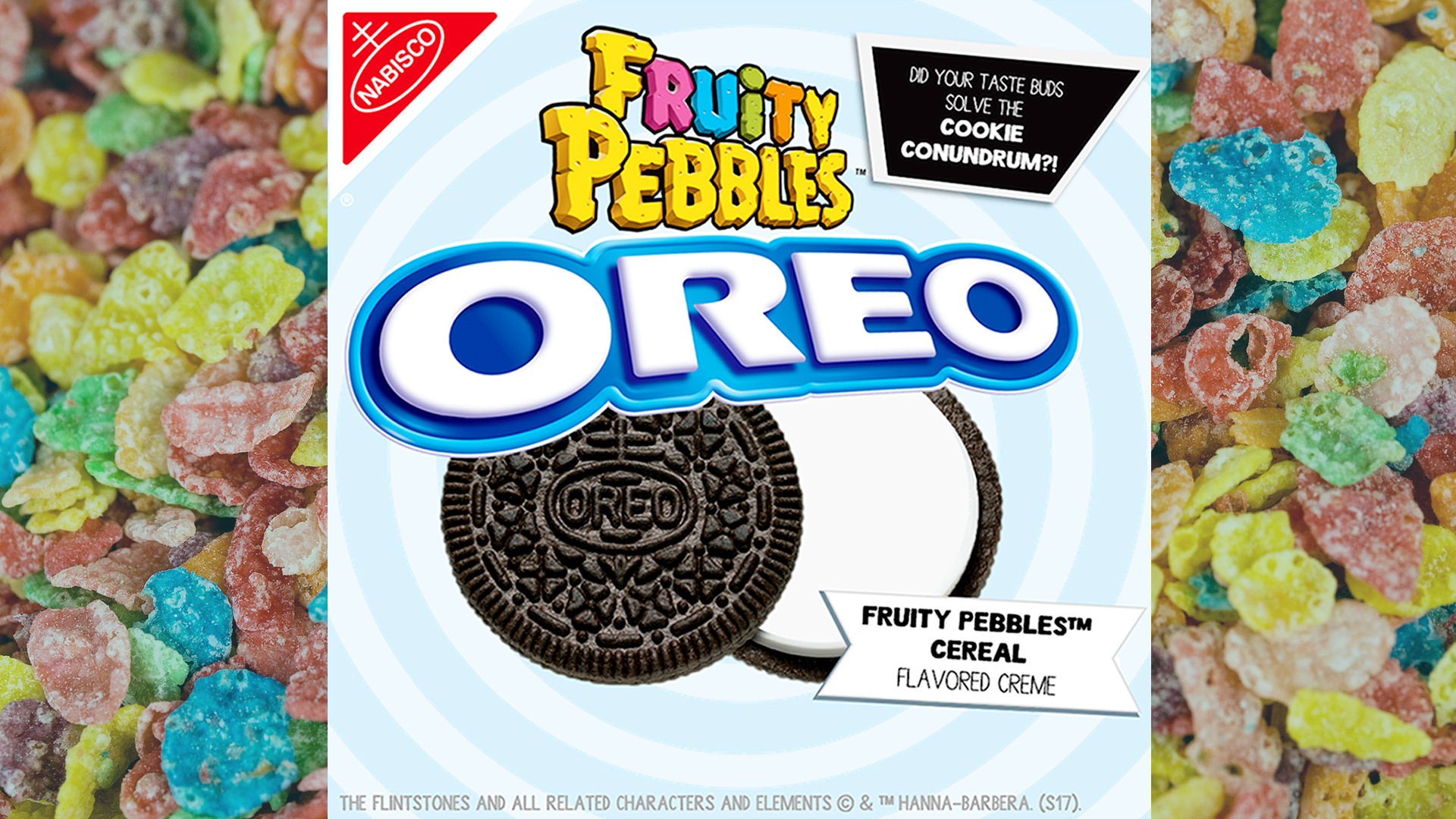 The mystery oreo flavor is fruity pebbles cereal ccuart Image collections