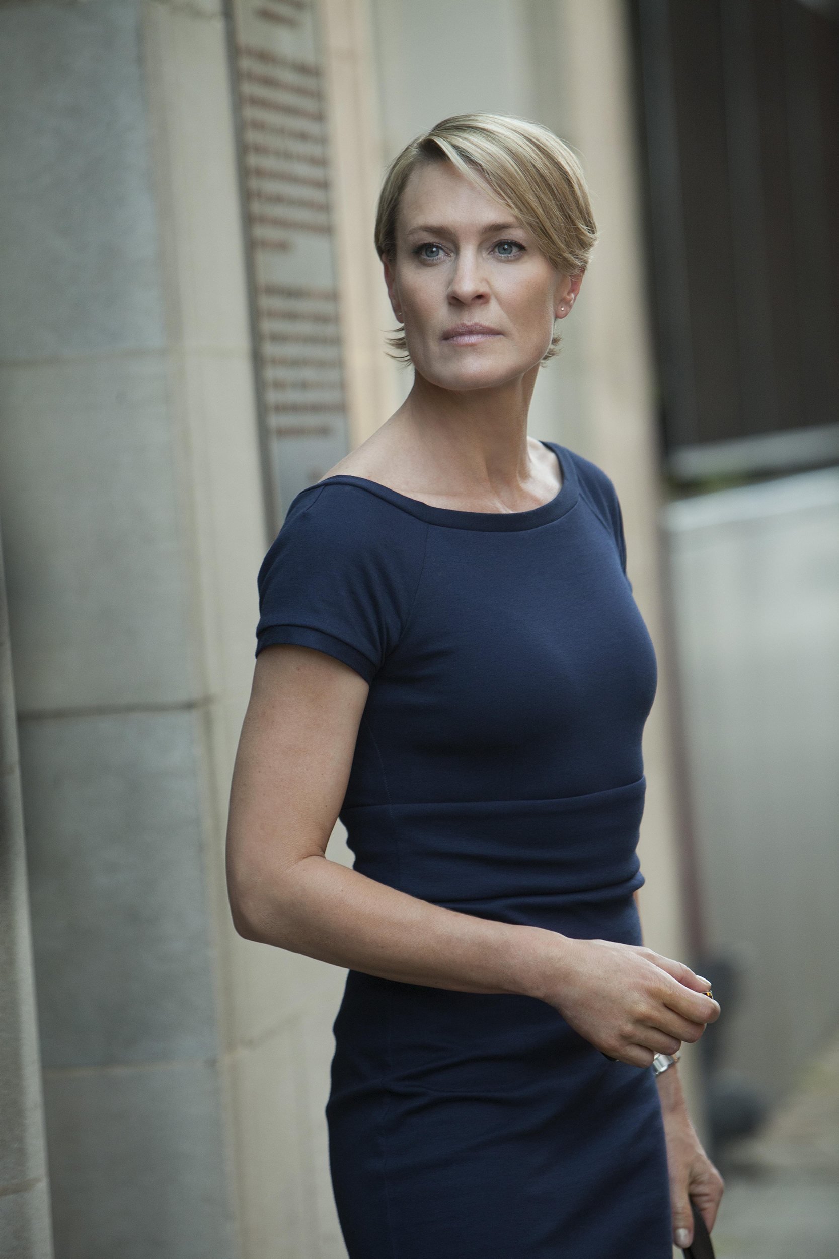 Image; Robin Wright, House Of Cards - 2013