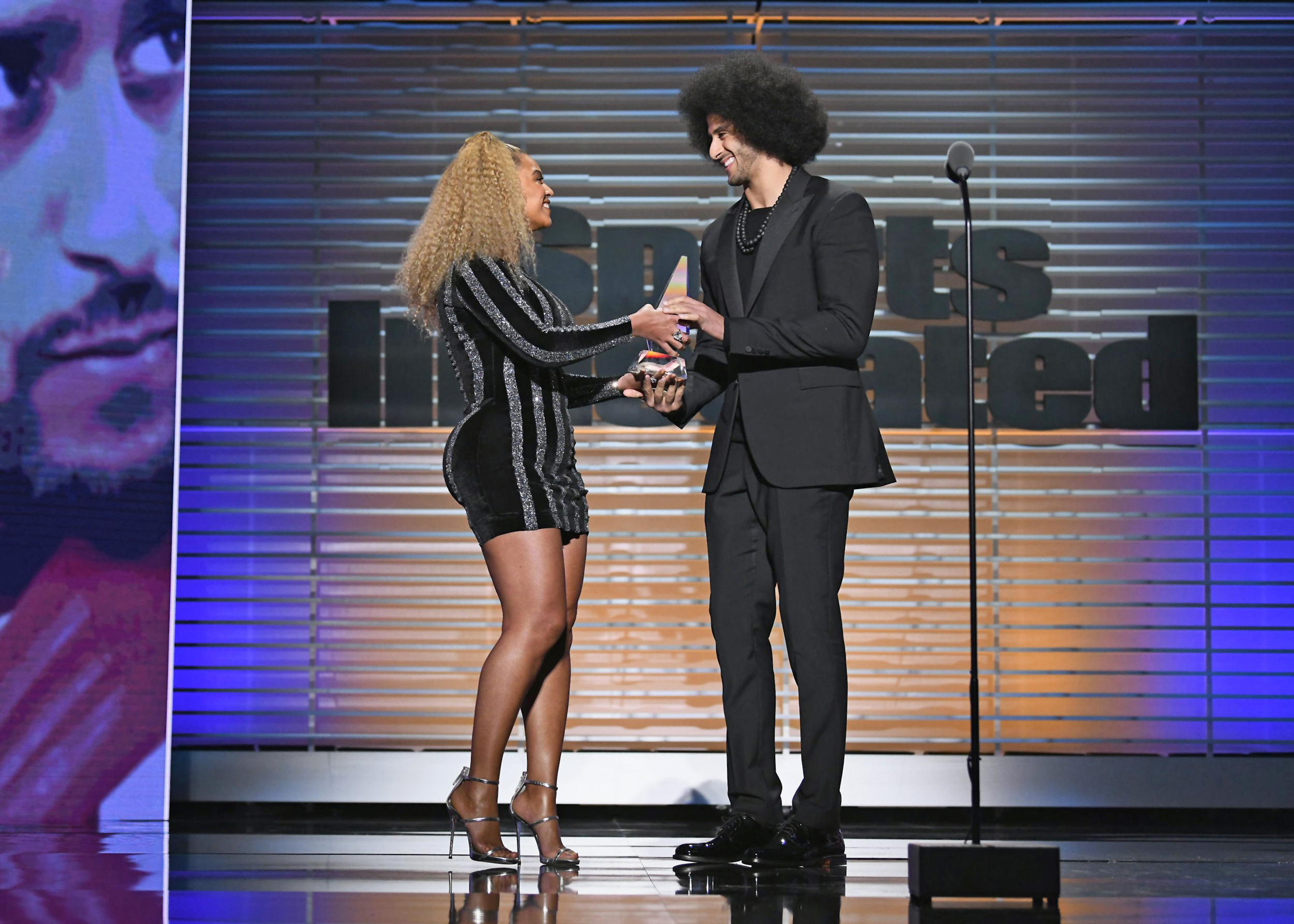 Image result for beyonce and kaepernick