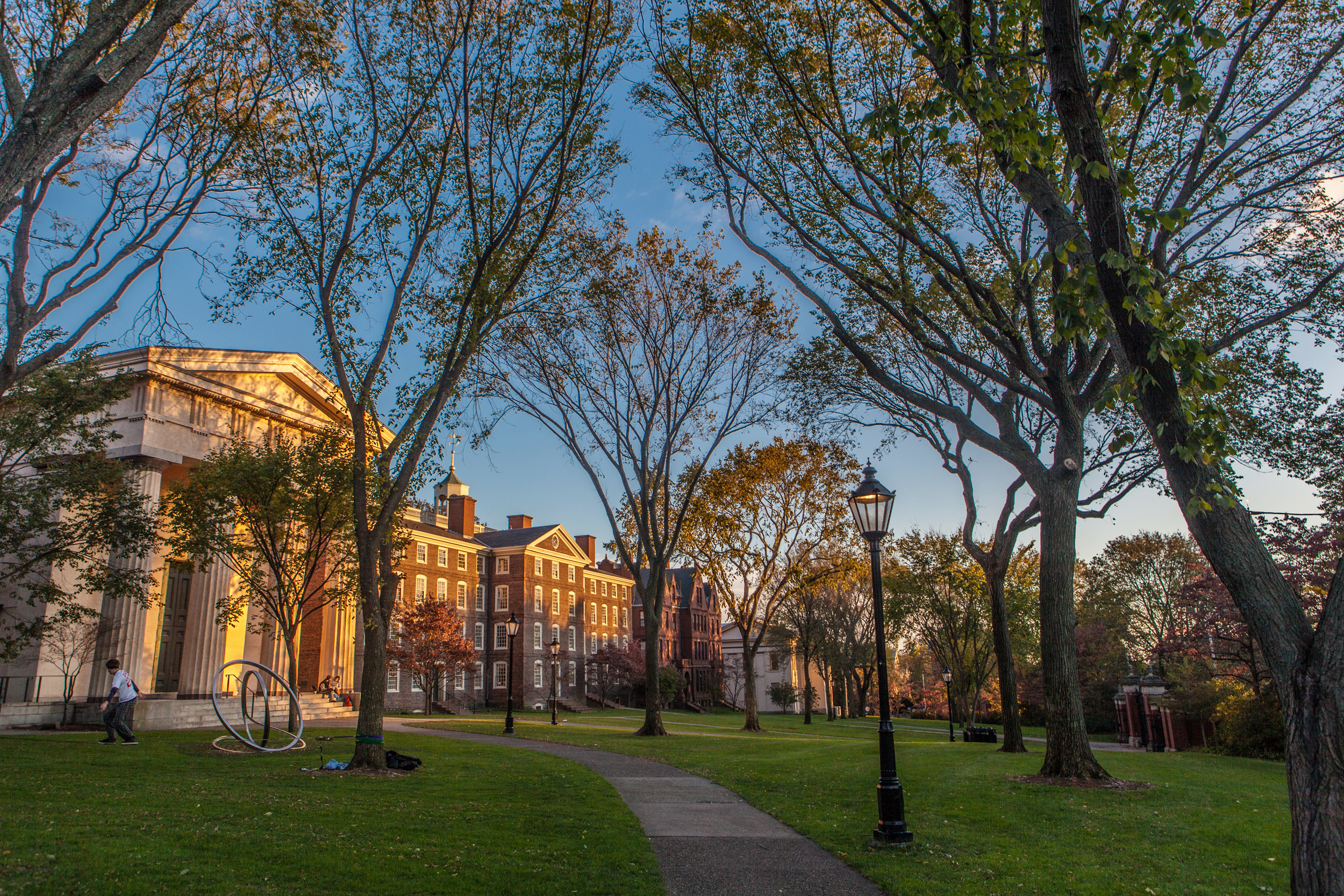 Image: Brown University campus.