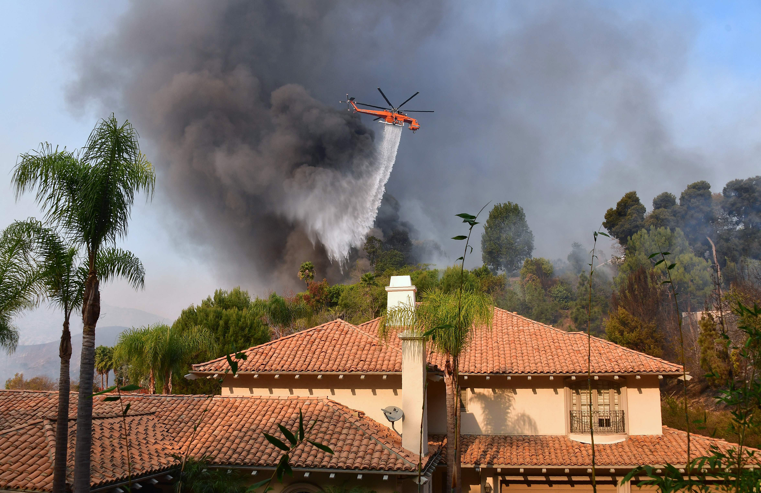 Image: Bel Air Wildfire