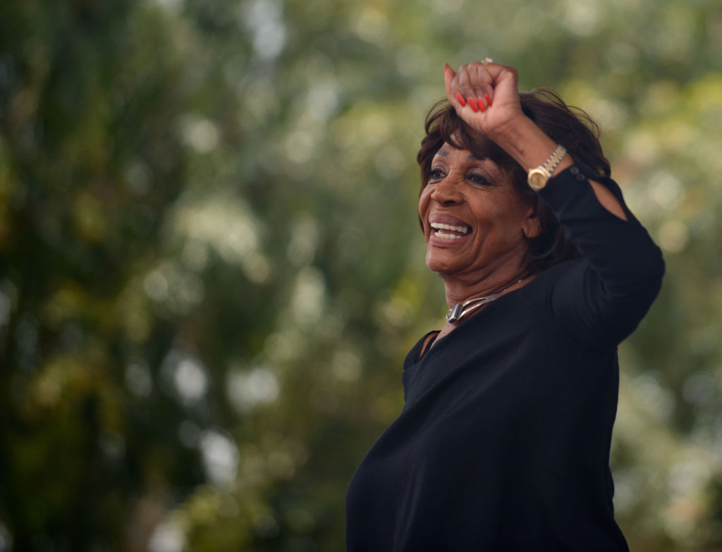 Rep. Waters to LGBTQ community: 'I will be with you in the fights ahead'