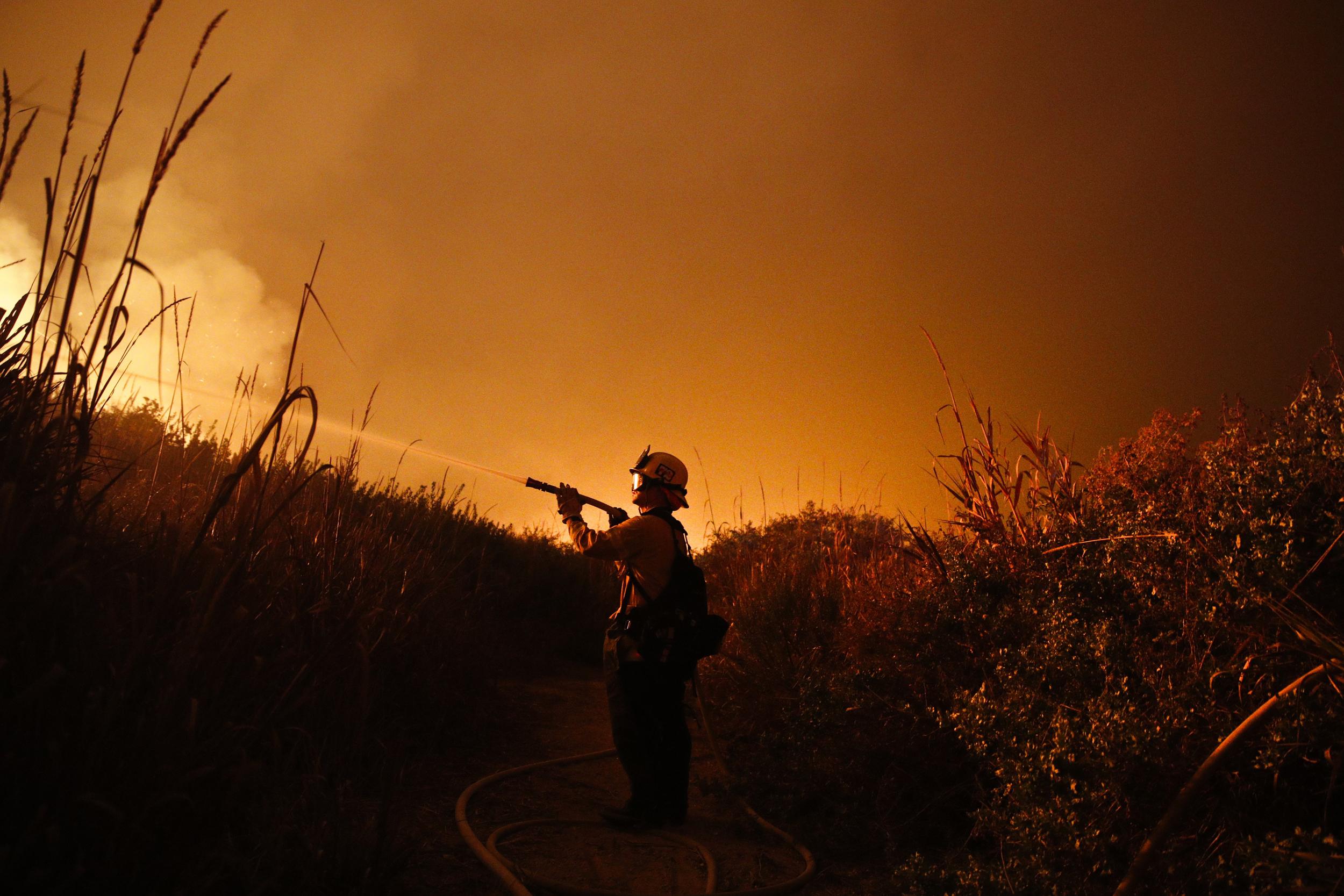 Image: Firefighter Ryan Spencer