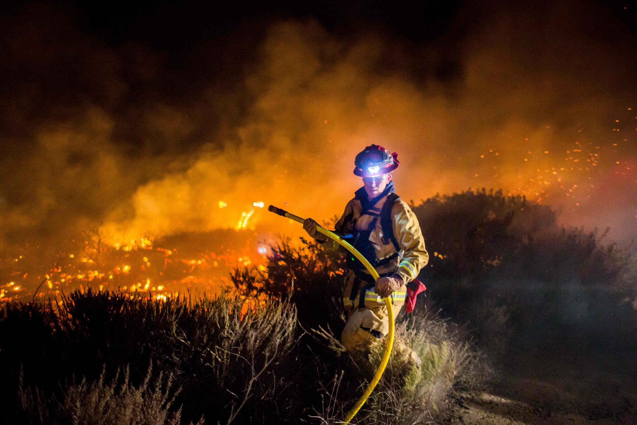 Image: US-CALIFORNIA-WILDFIRES