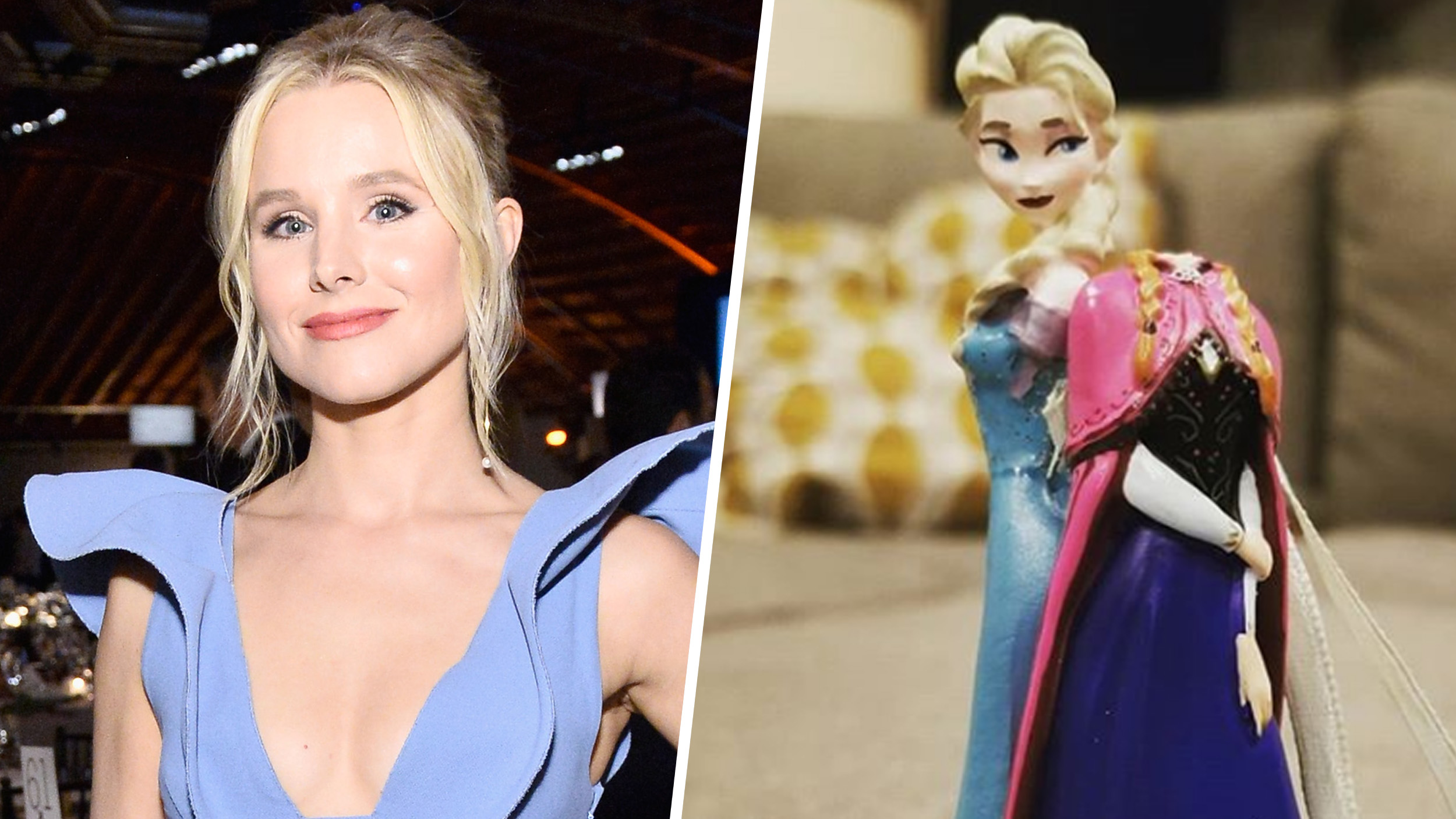 Kristen Bell's daughters keep her 'grounded' by destroying 'Frozen' ornament