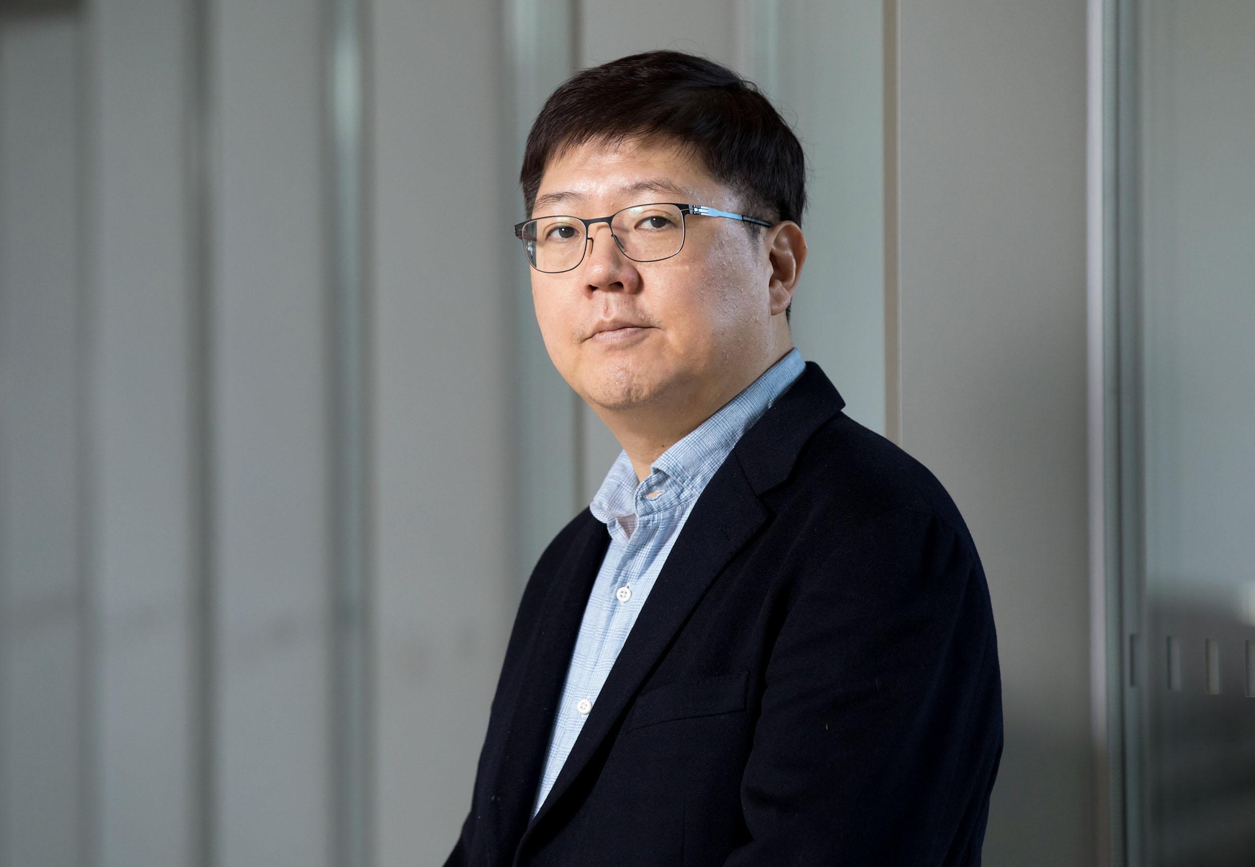 Image: Kim Hong-gul hopes to have good news in 2018.