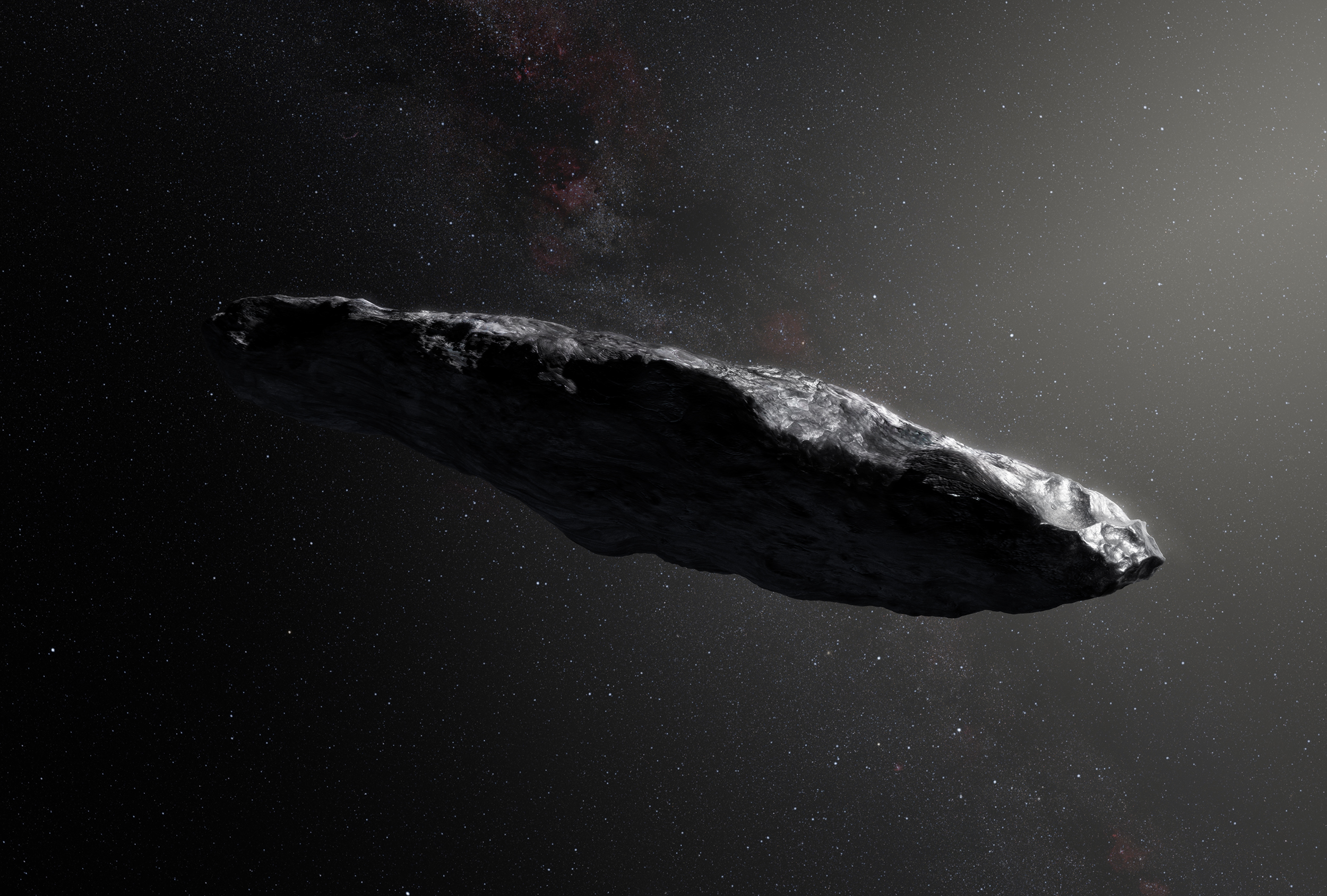 Is This Mysterious Space Rock Actually An Alien Spaceship