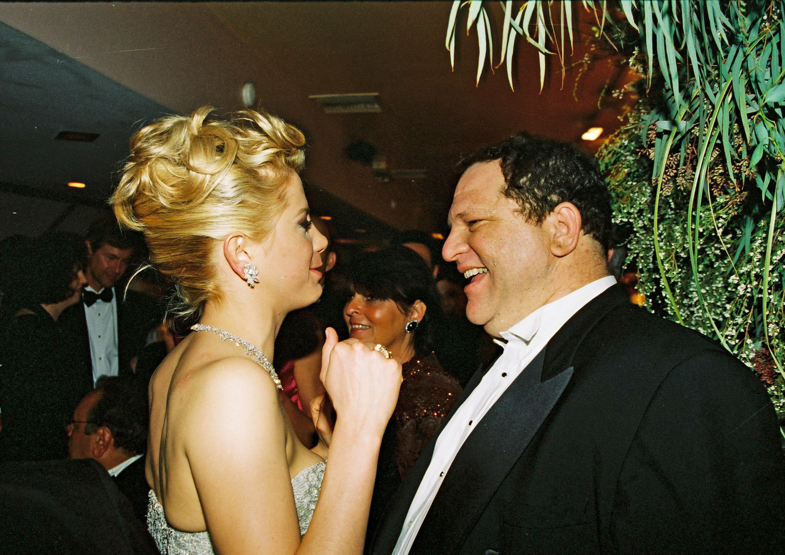 Image: Mira Sorvino and Harvey Weinstein