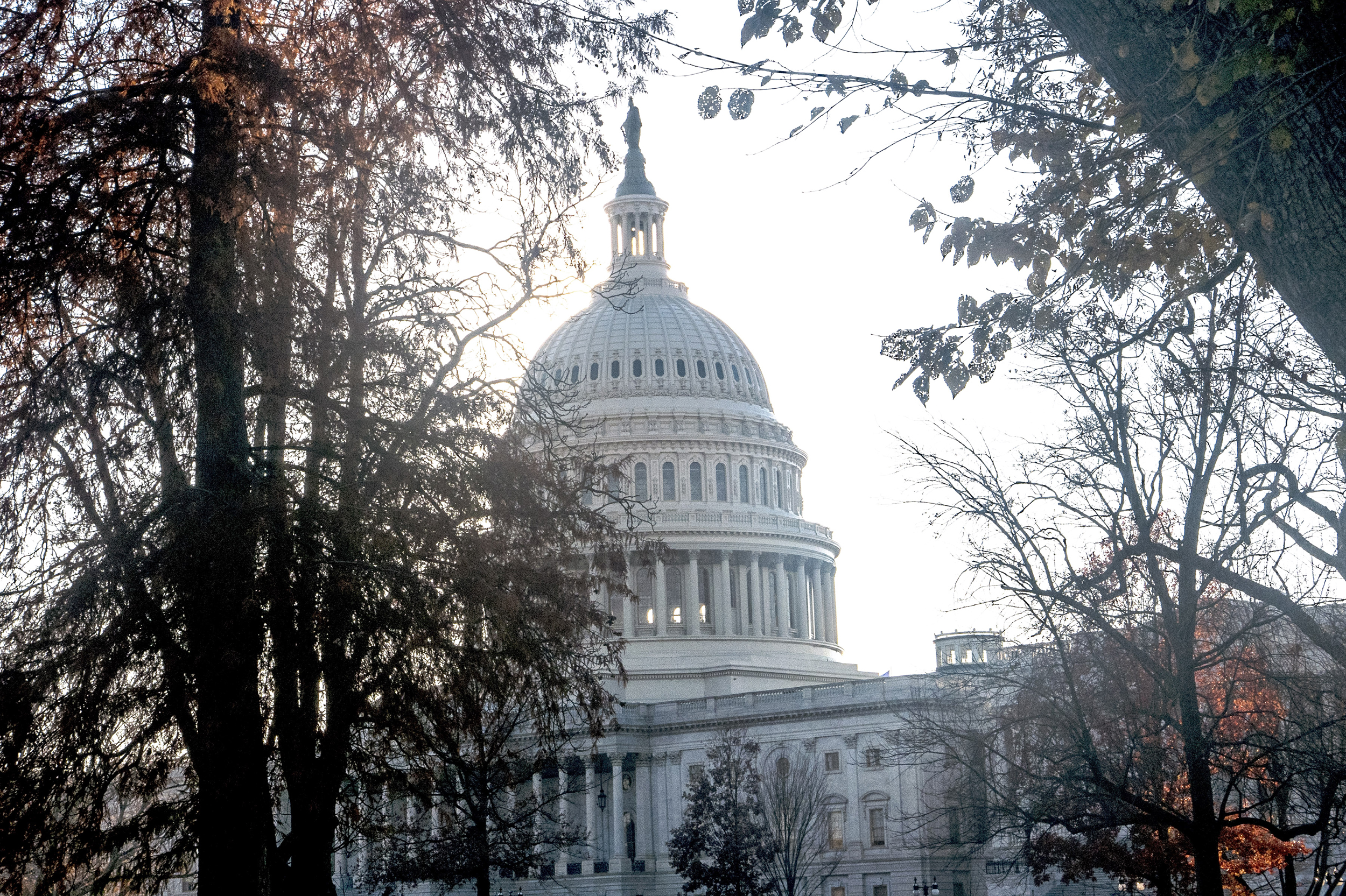 Image: The front of the U.S Capitol Building in Washington, DC on Dec. 1, 2017.