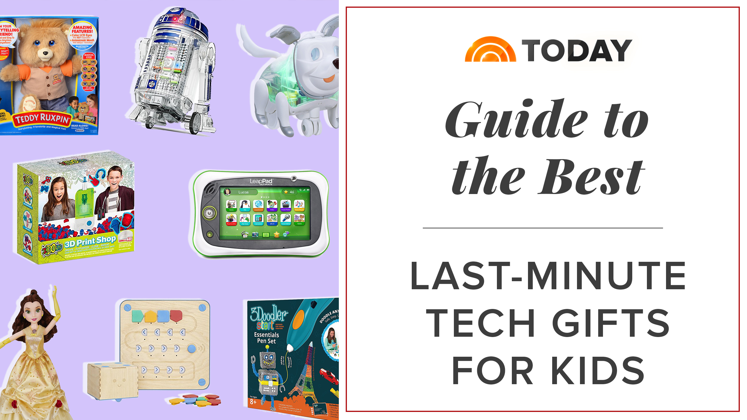17 cutting edge tech ts for kids of all ages TODAY