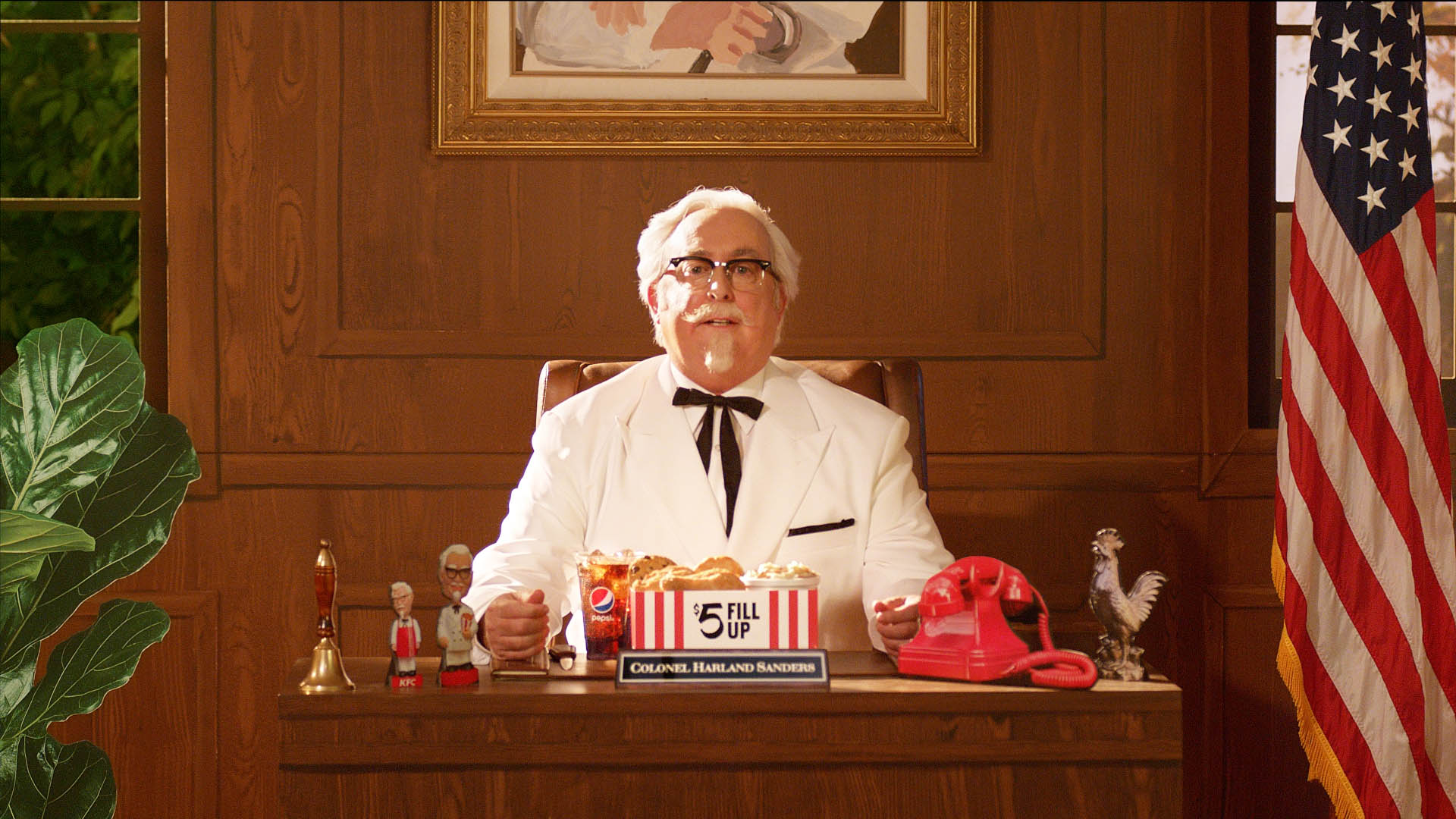 Kfc 5 Dollar Christmas Colonel 2020 KFC's new Colonel Sanders is an unknown actor