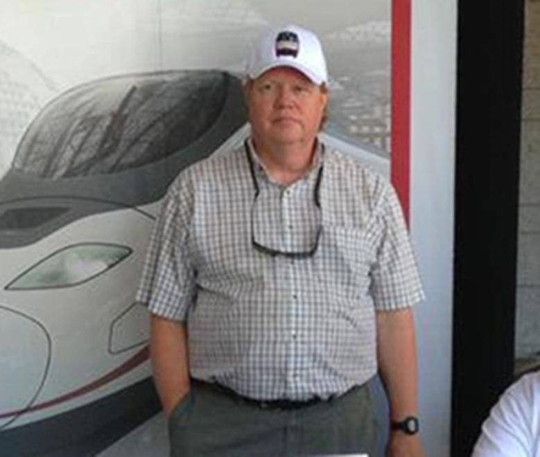 Image: Jim Hamre, a board member of the Rail Passengers Association, died during the Amtrak derailment outside Seattle, Washington on Dec. 18, 2017.