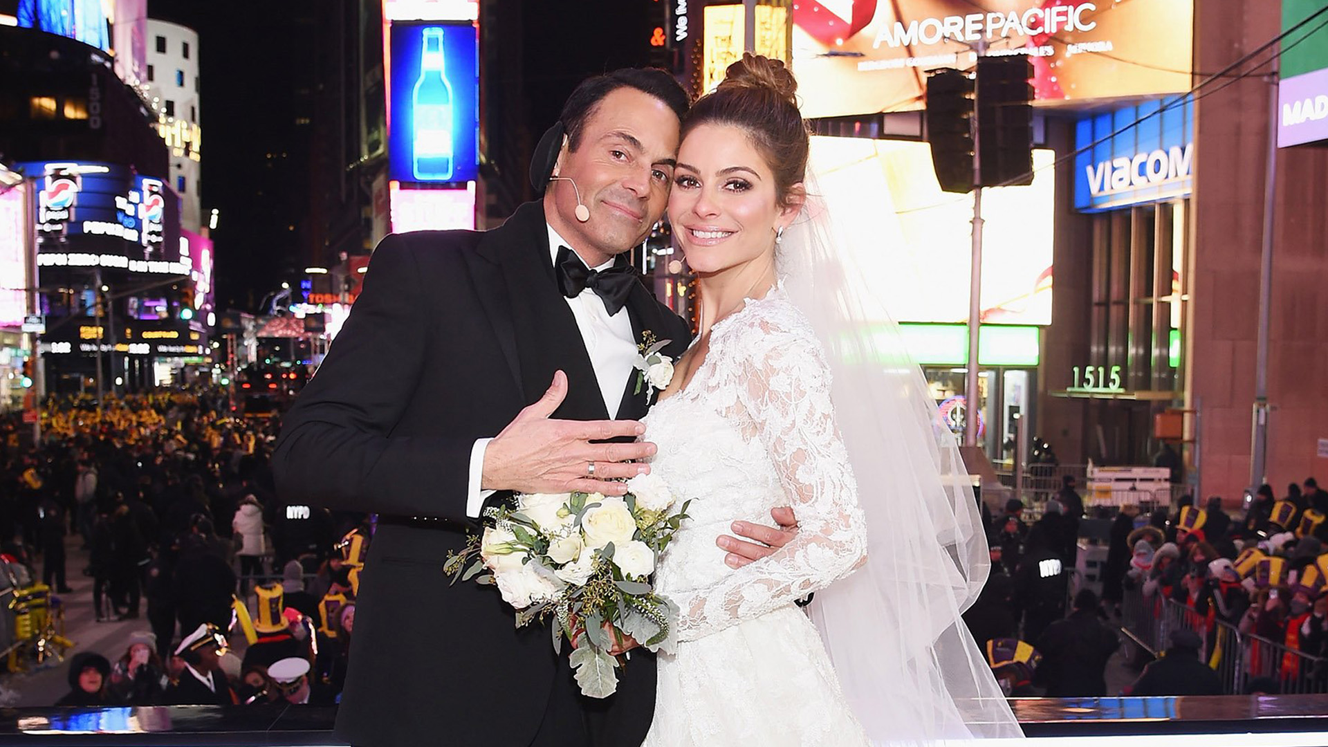 Maria Menounos Marries On Live TV In Surprise Wedding On