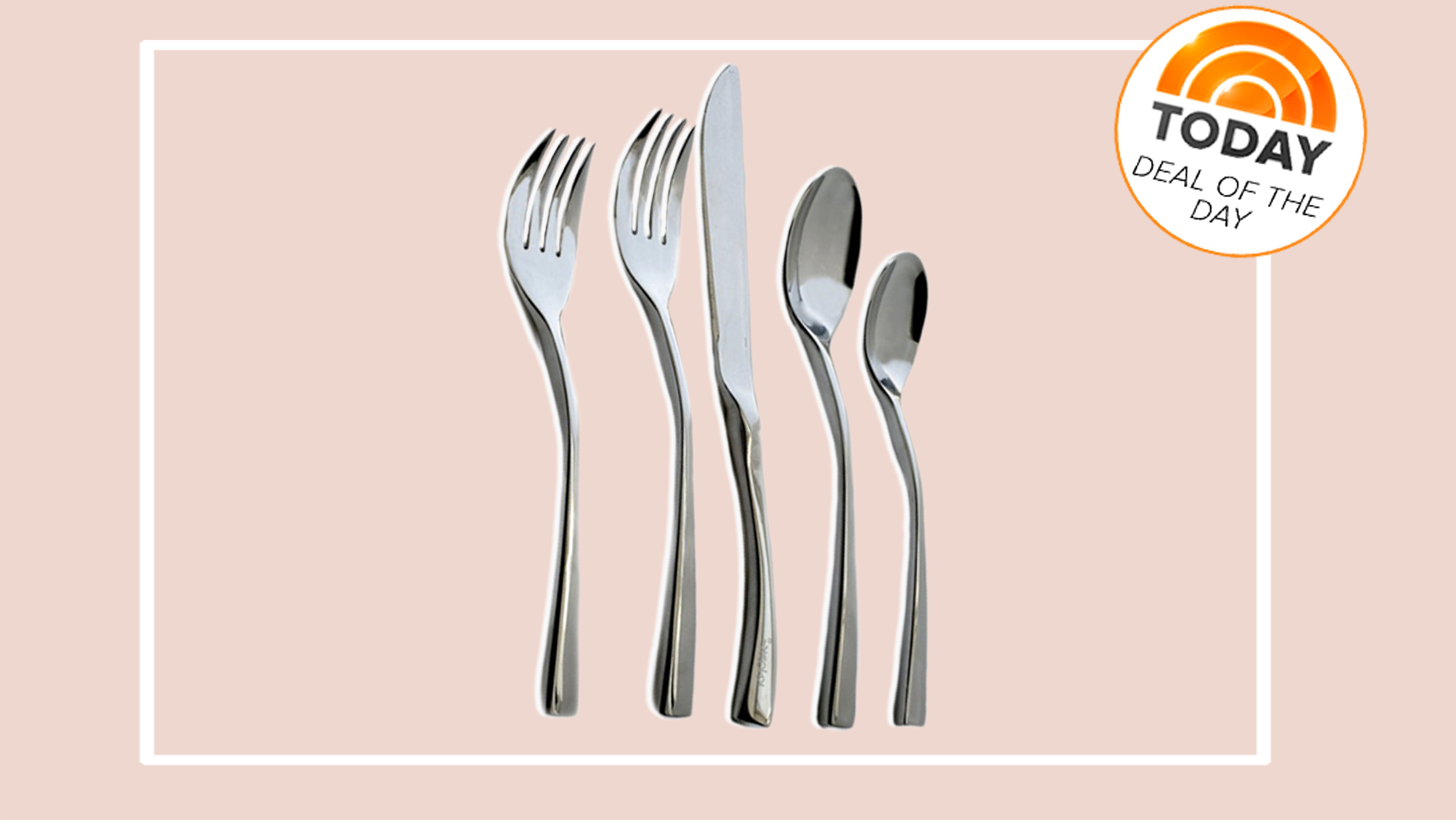 sc 1 st  Today & Deal of the Day: 50 percent off Knork 20-piece flatware set - TODAY.com