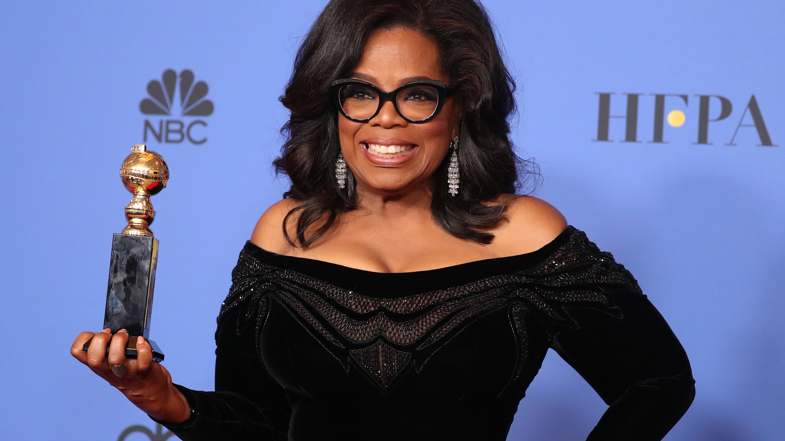 See Oprah Winfrey With Pink And Purple Hair On New O