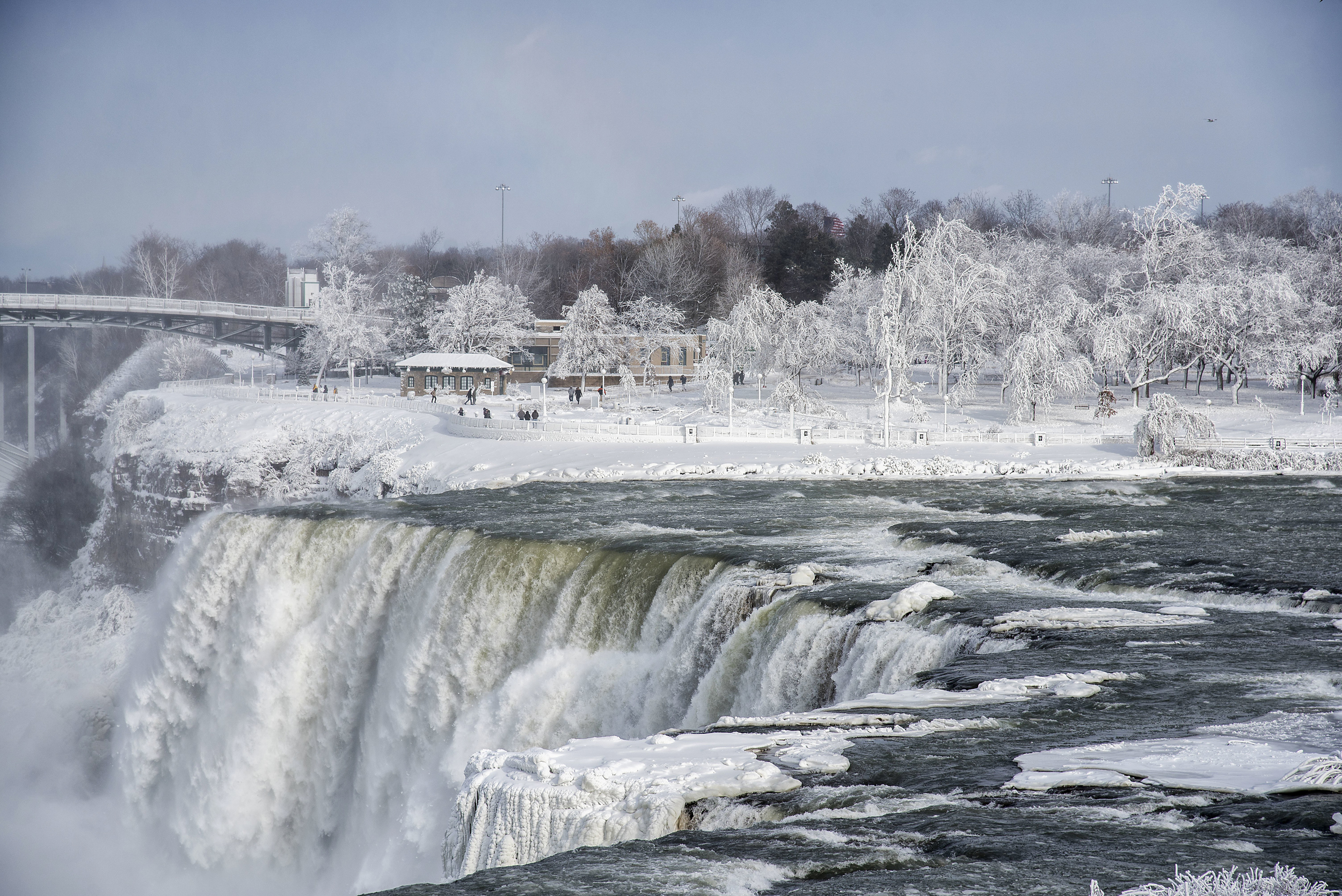 Of falls pictures niagara frozen