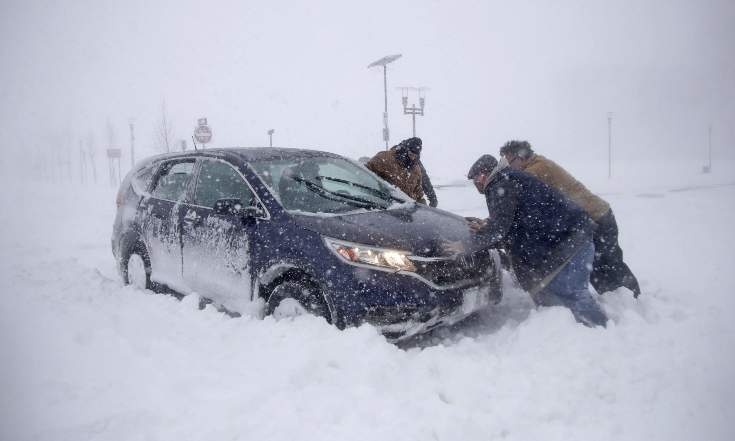 Millions face snow, travel chaos as \'bomb cyclone\' clobbers the ...