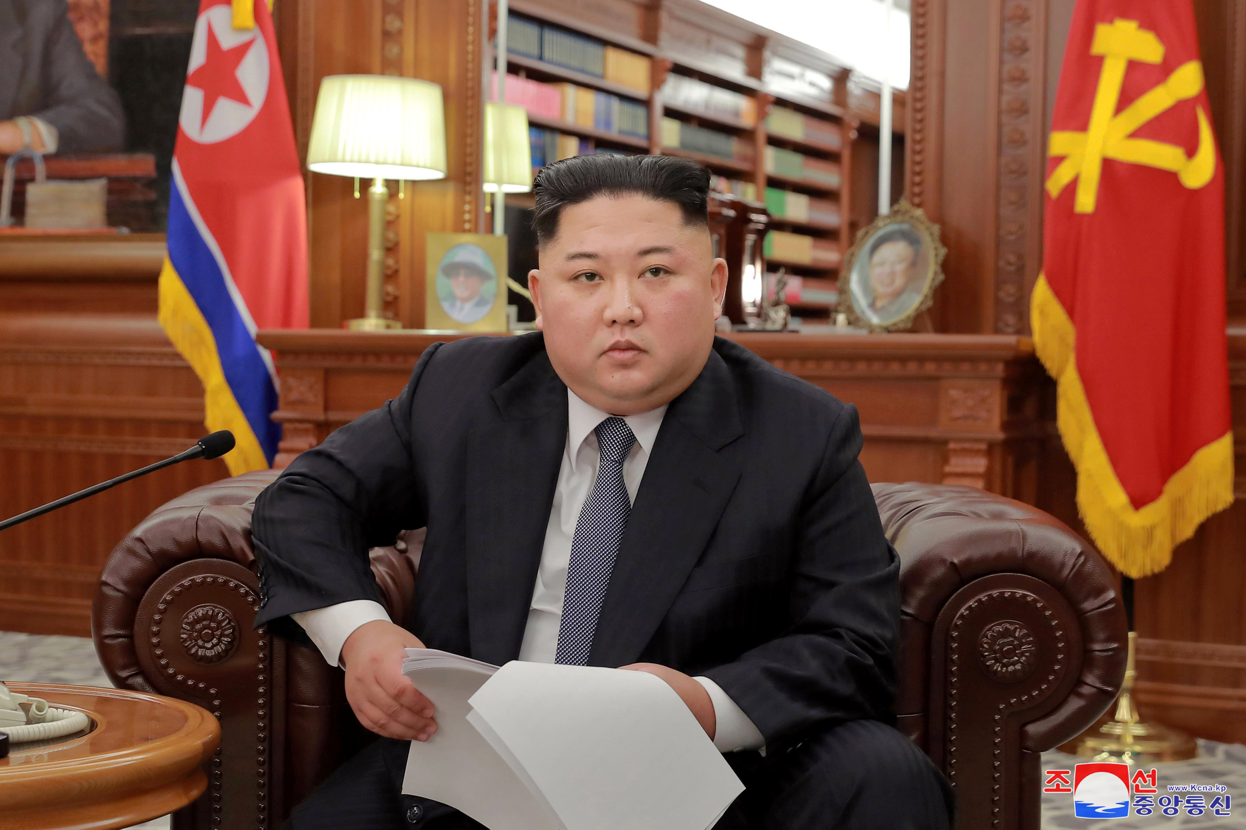 Kim Jong Un says 'new path' inevitable if U.S. demands unilateral action