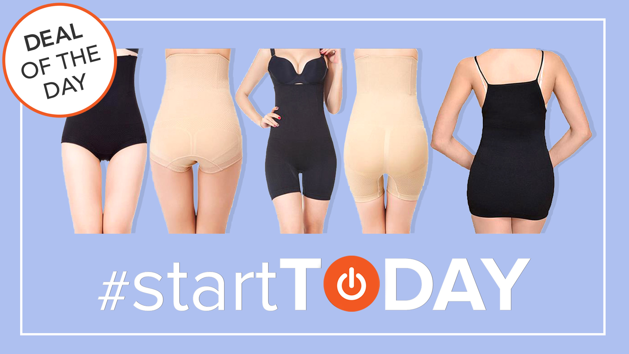 start today deal of the day robert matthew shapewear for 60 percent off