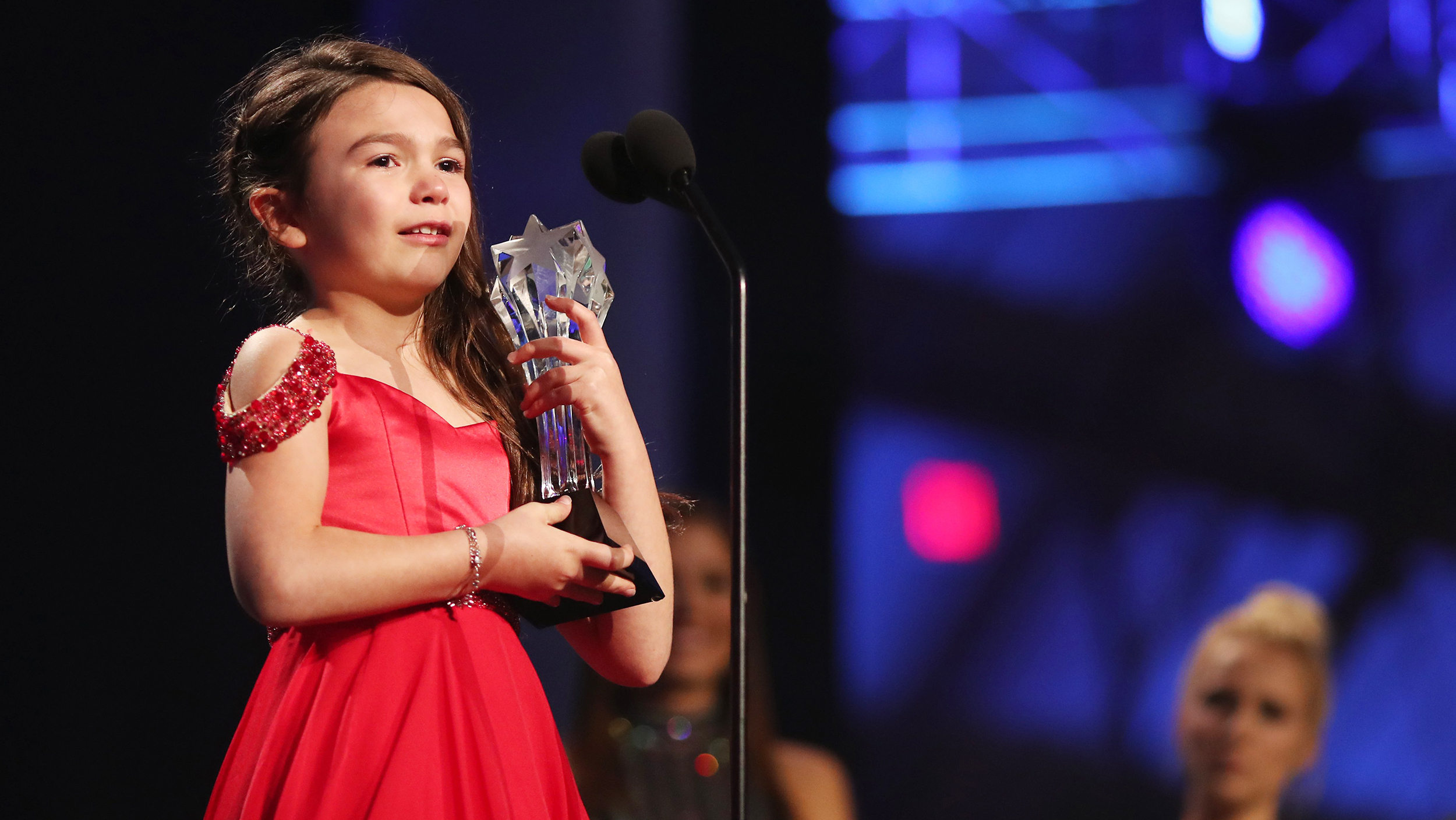 This 7-year-old's acceptance speech will make you cry ... and laugh and smile