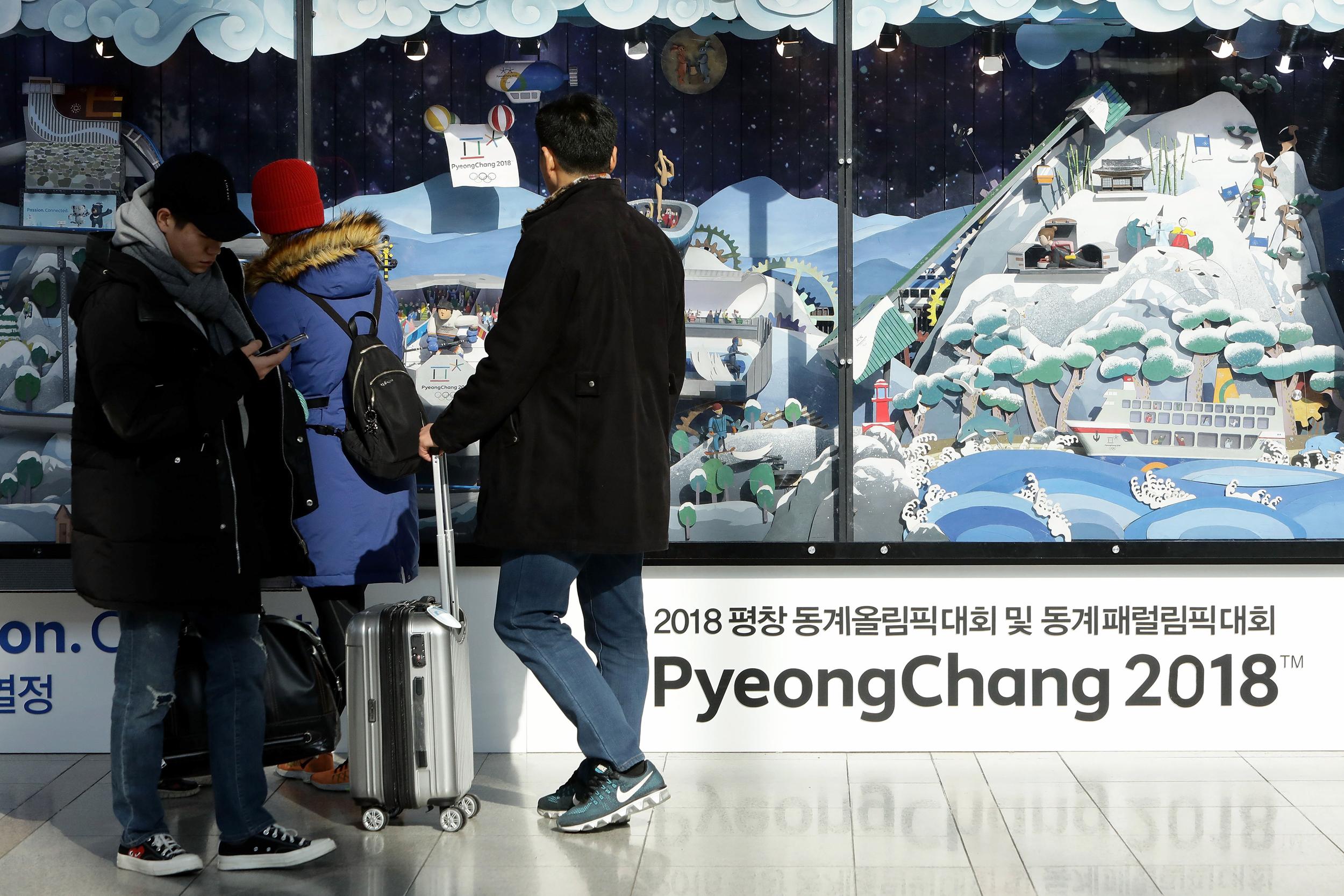 Olympics-on-the-agenda-as-North-and-South-Korea-hold-rare-talks