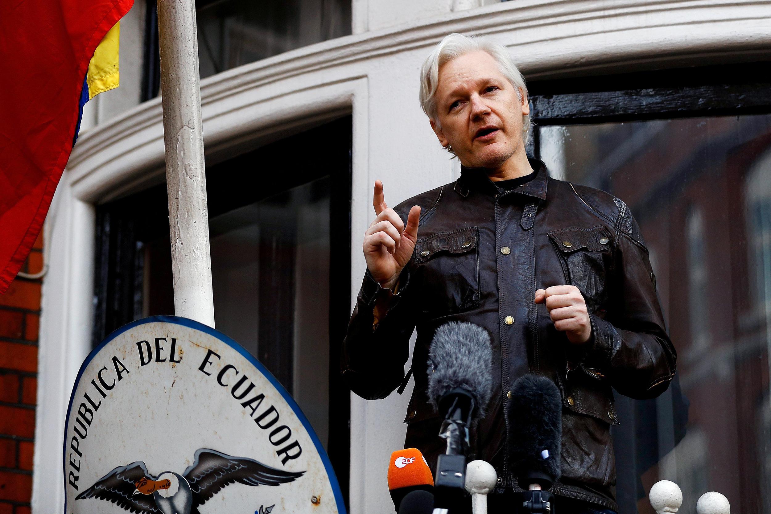 Julian Assange is Ecuadorian now