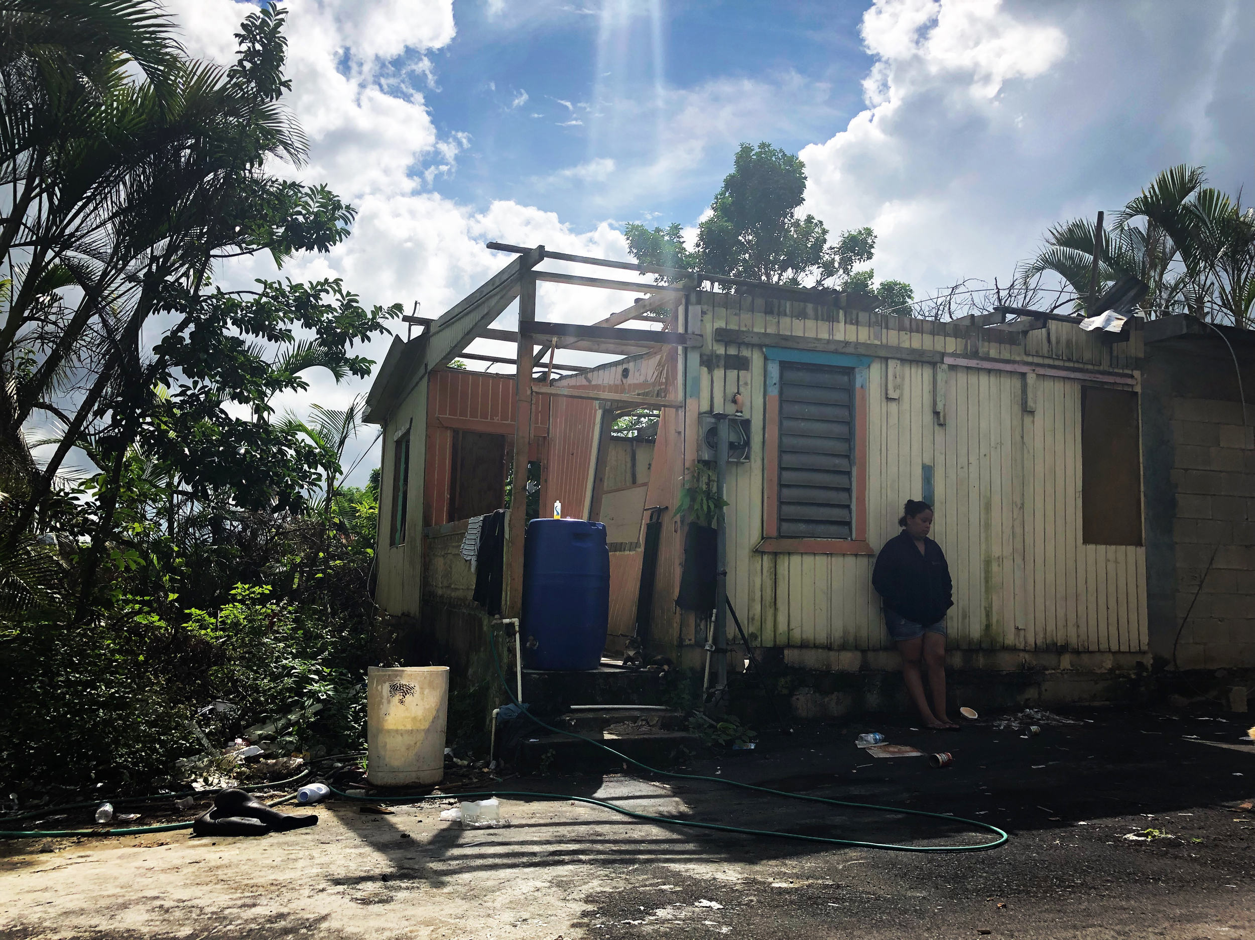 Four months later, military vets still on a mission in Puerto Rico