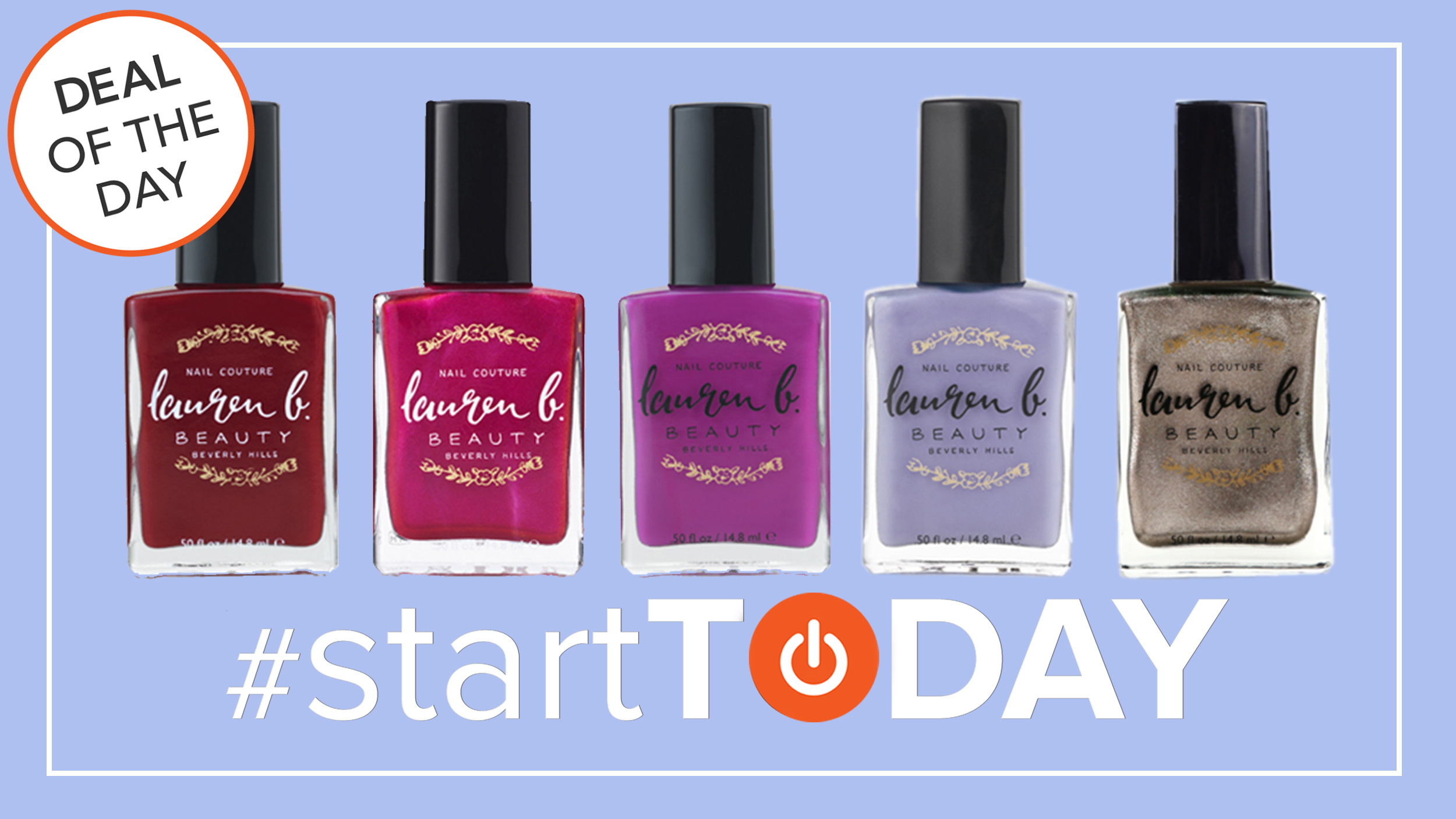 Start TODAY Deal of the Day: 60 percent off nail polish kits - TODAY.com