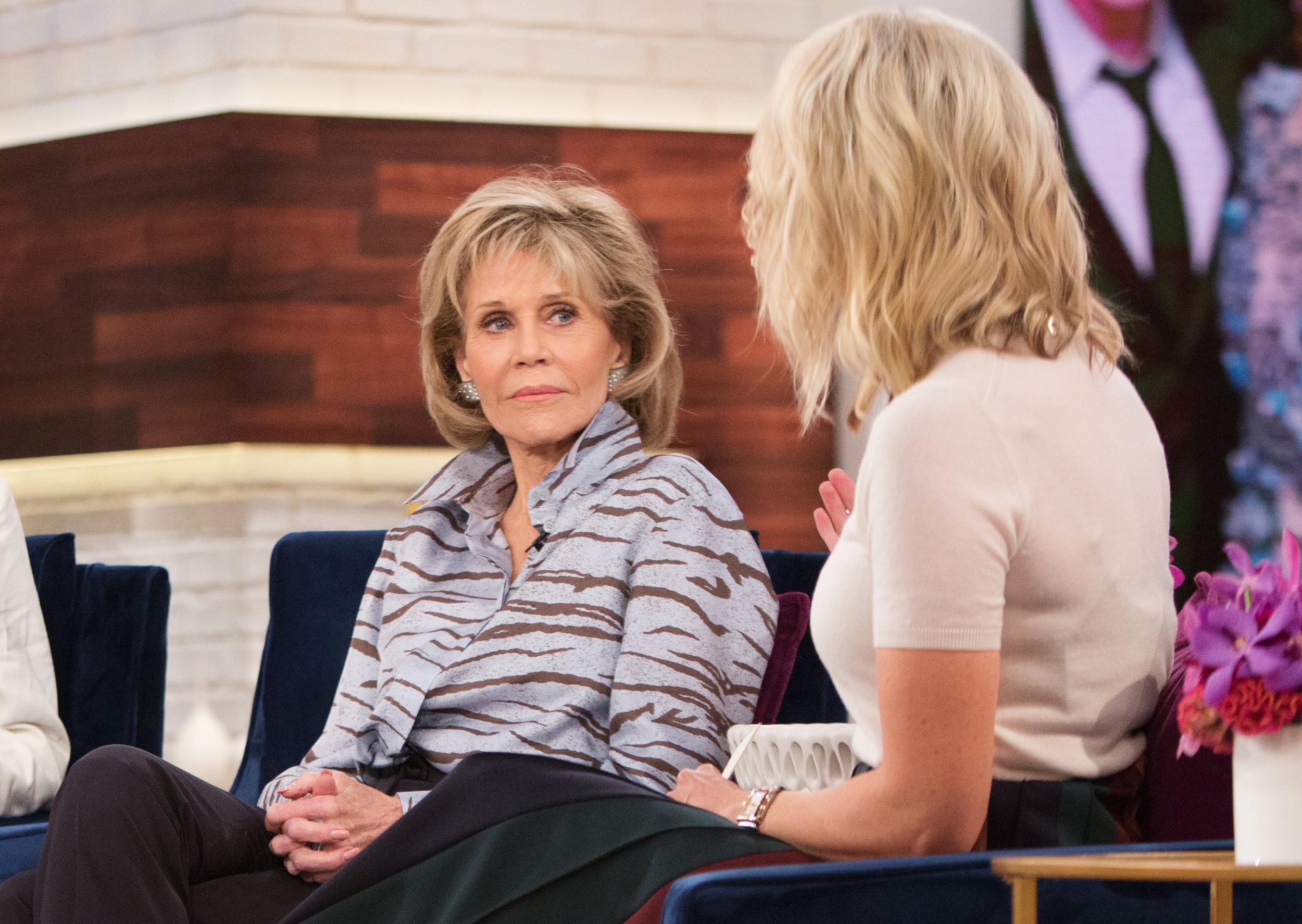 Megyn Kelly slams Jane Fonda's 'poor-me routine'