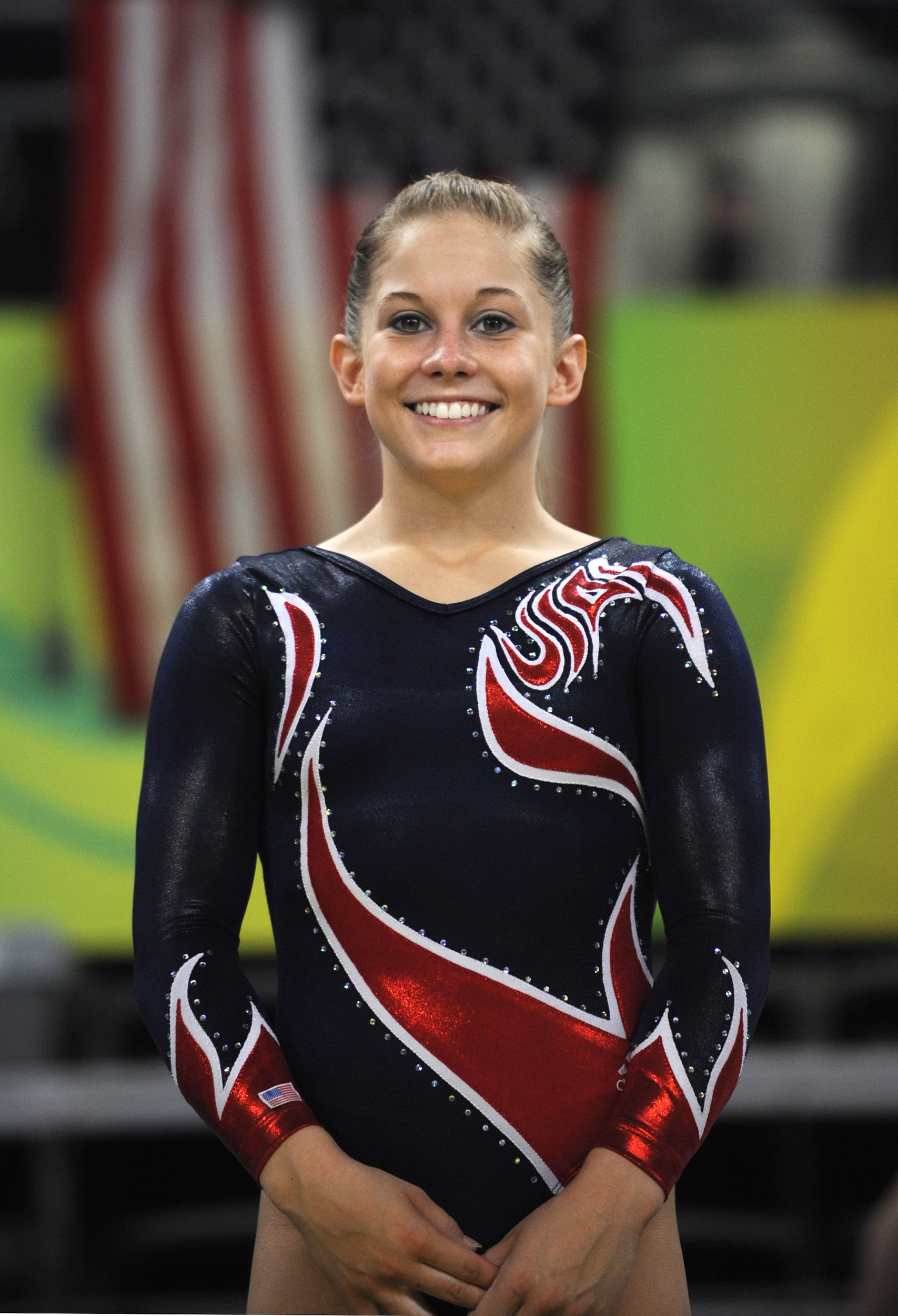 picture Shawn Johnson 4 Olympic medals in gymnastics