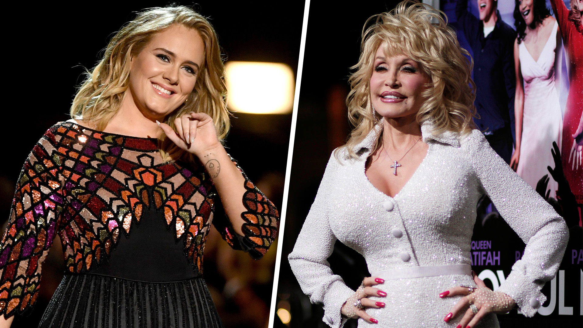 Adele Dresses Up Like Dolly Parton ... And Dolly Responds