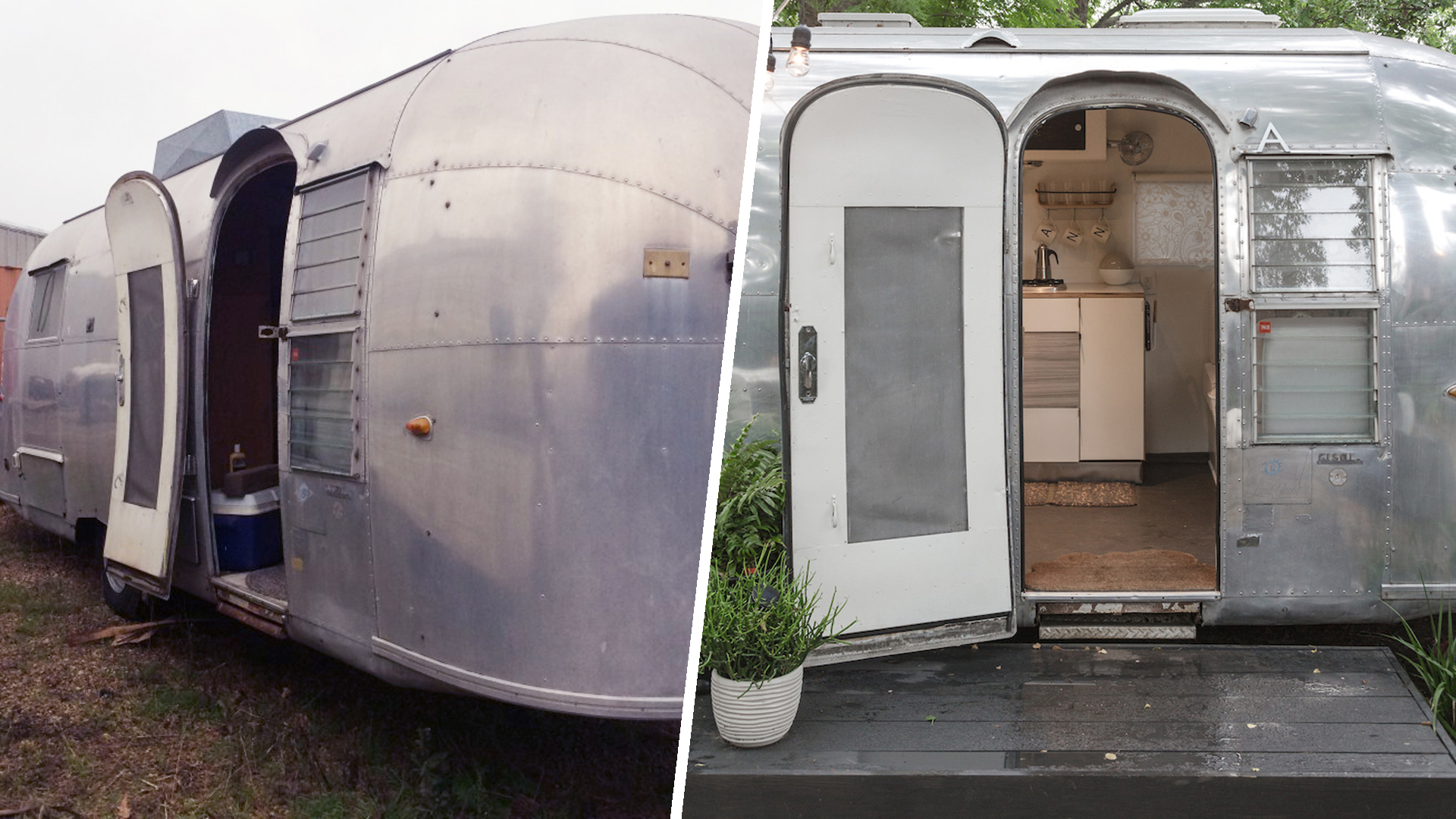 Vintage Airstream Renovation From Meh To Marvelous