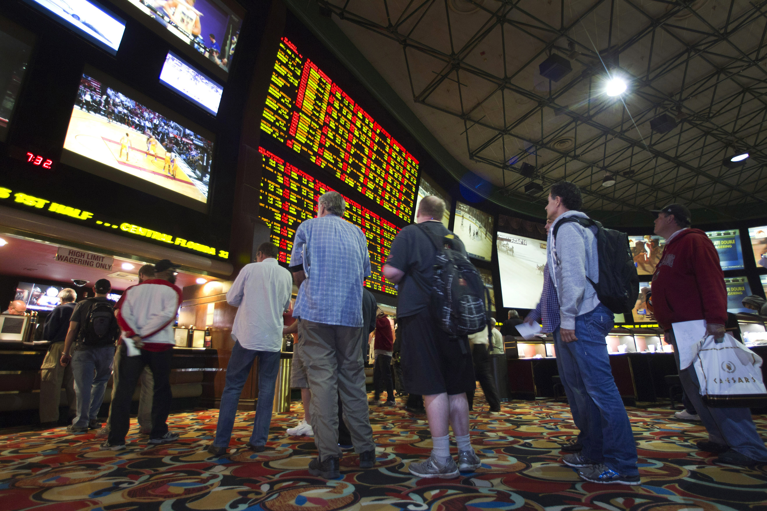 why is sports betting only legal in vegas
