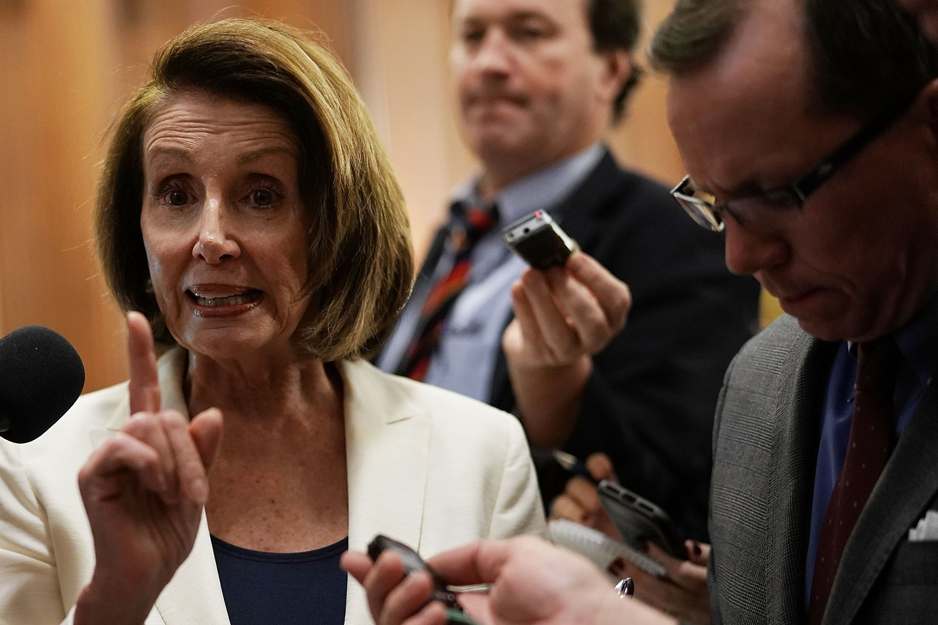 Pelosi sets House record with eight-hour speech backing DACA