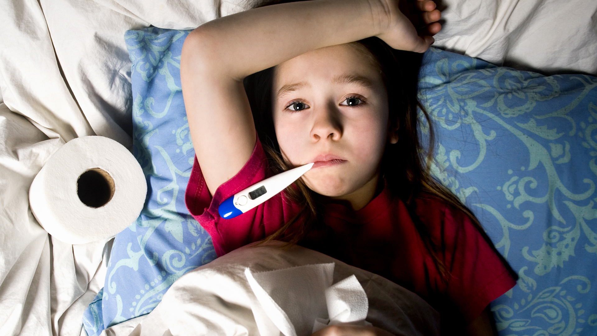 What are flu symptoms in children? Fears of a second wave