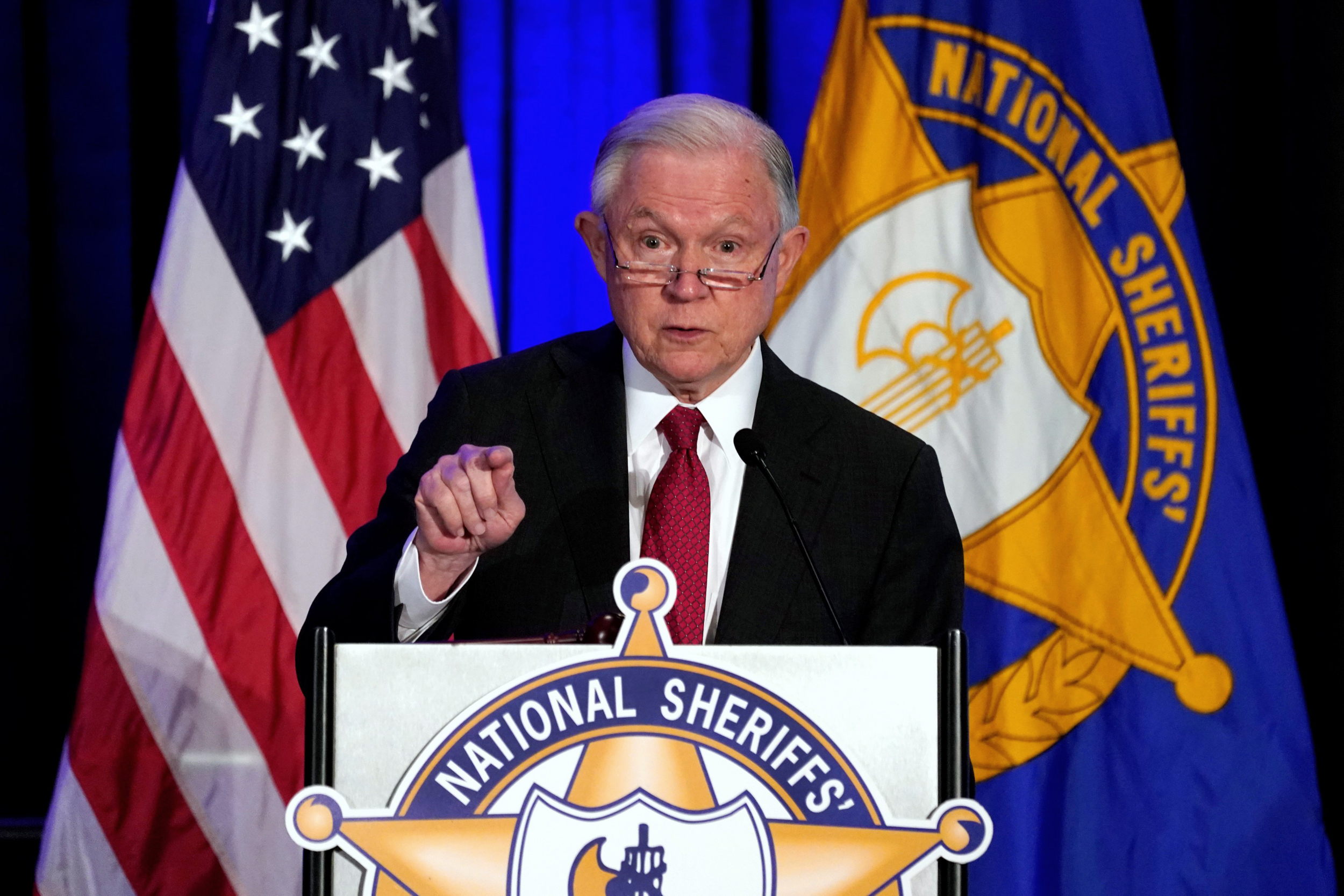 Jeff Sessions remarks on 'Anglo-American heritage of law enforcement'
