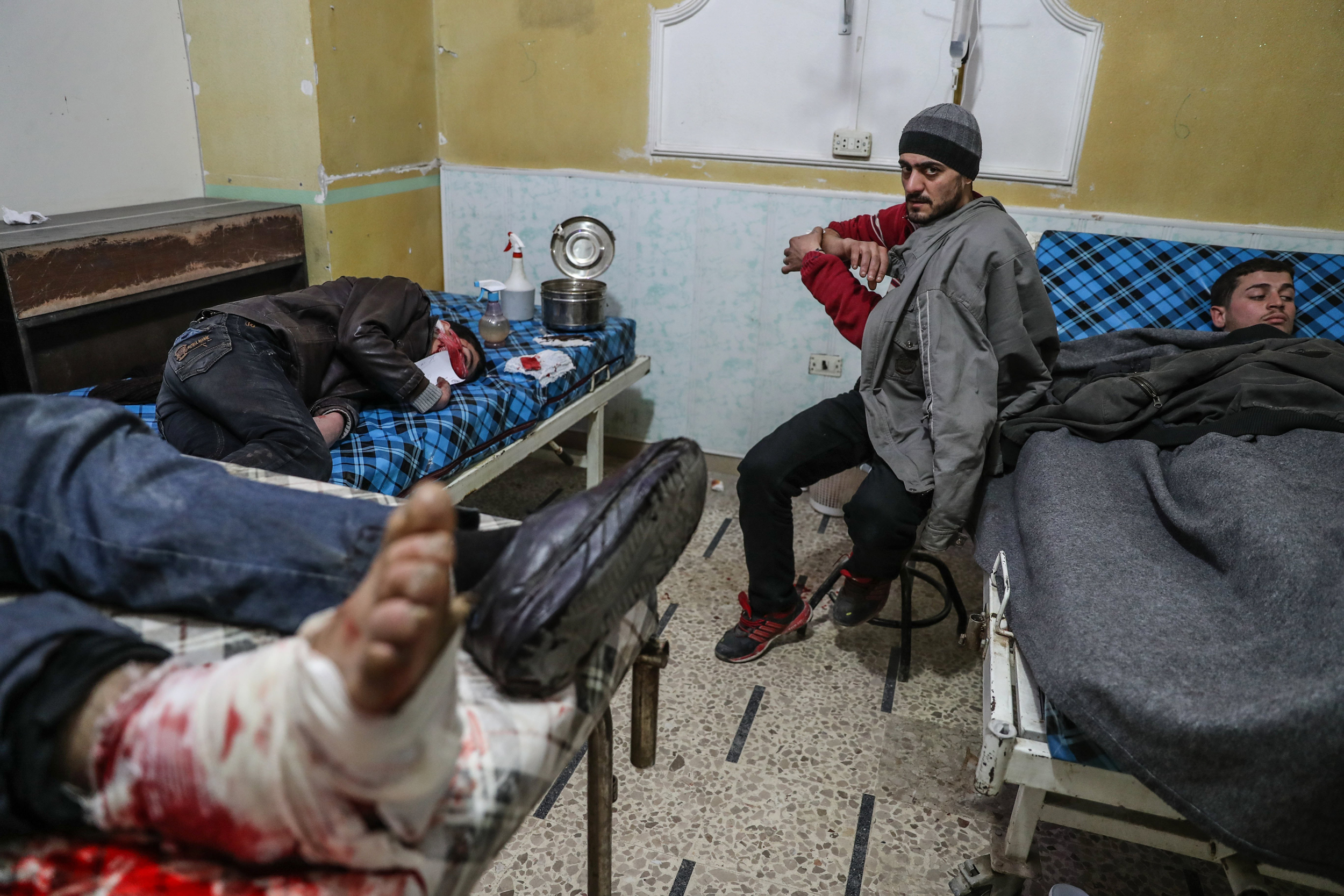 Russian Hand Seen Behind Increased Bombing Of Syrian Hospitals Meccanism Long Syiria