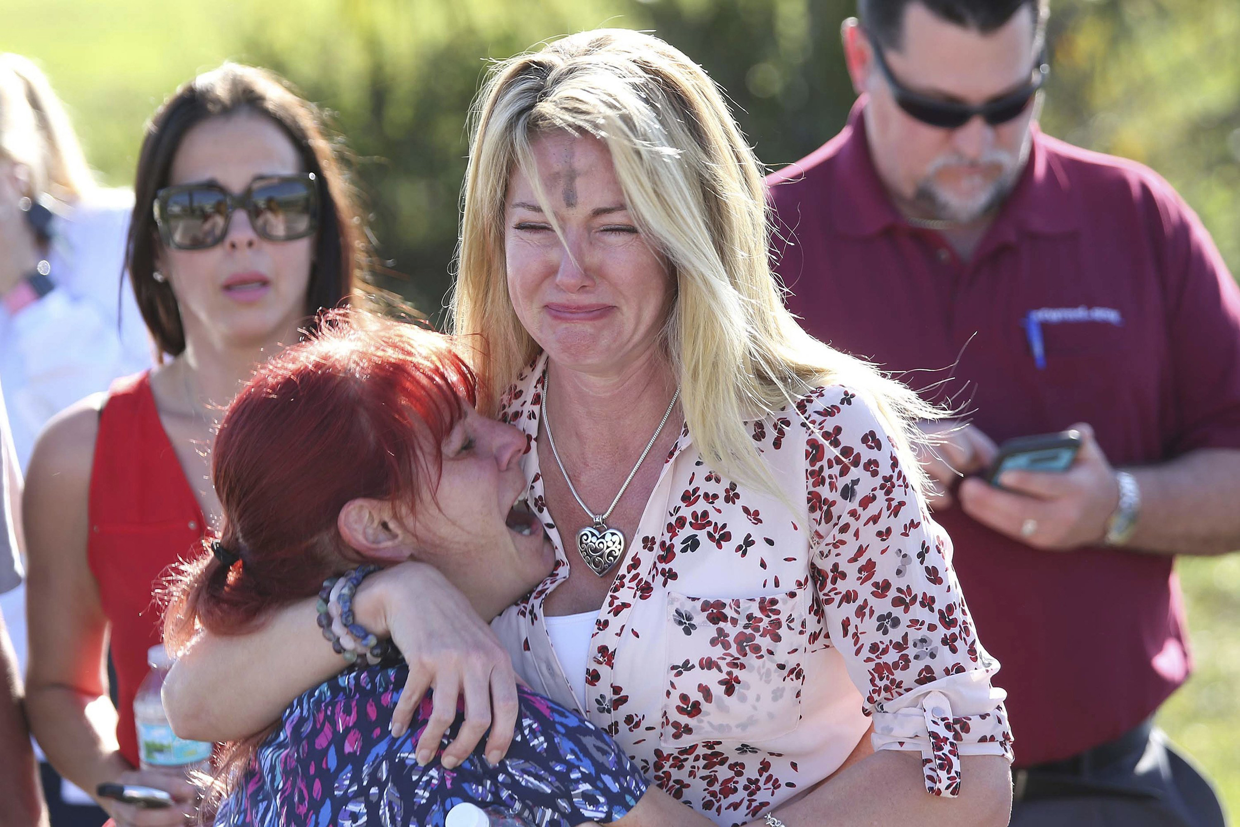 17 killed at Florida high school; governor blames 'pure evil'