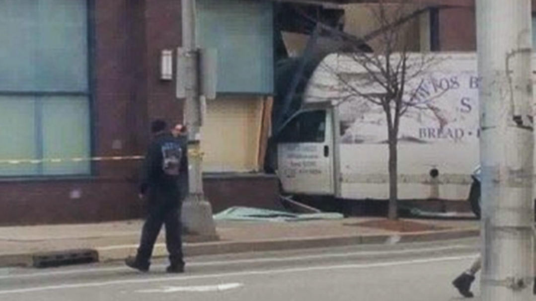 Stolen truck crashes into N.J. Planned Parenthood