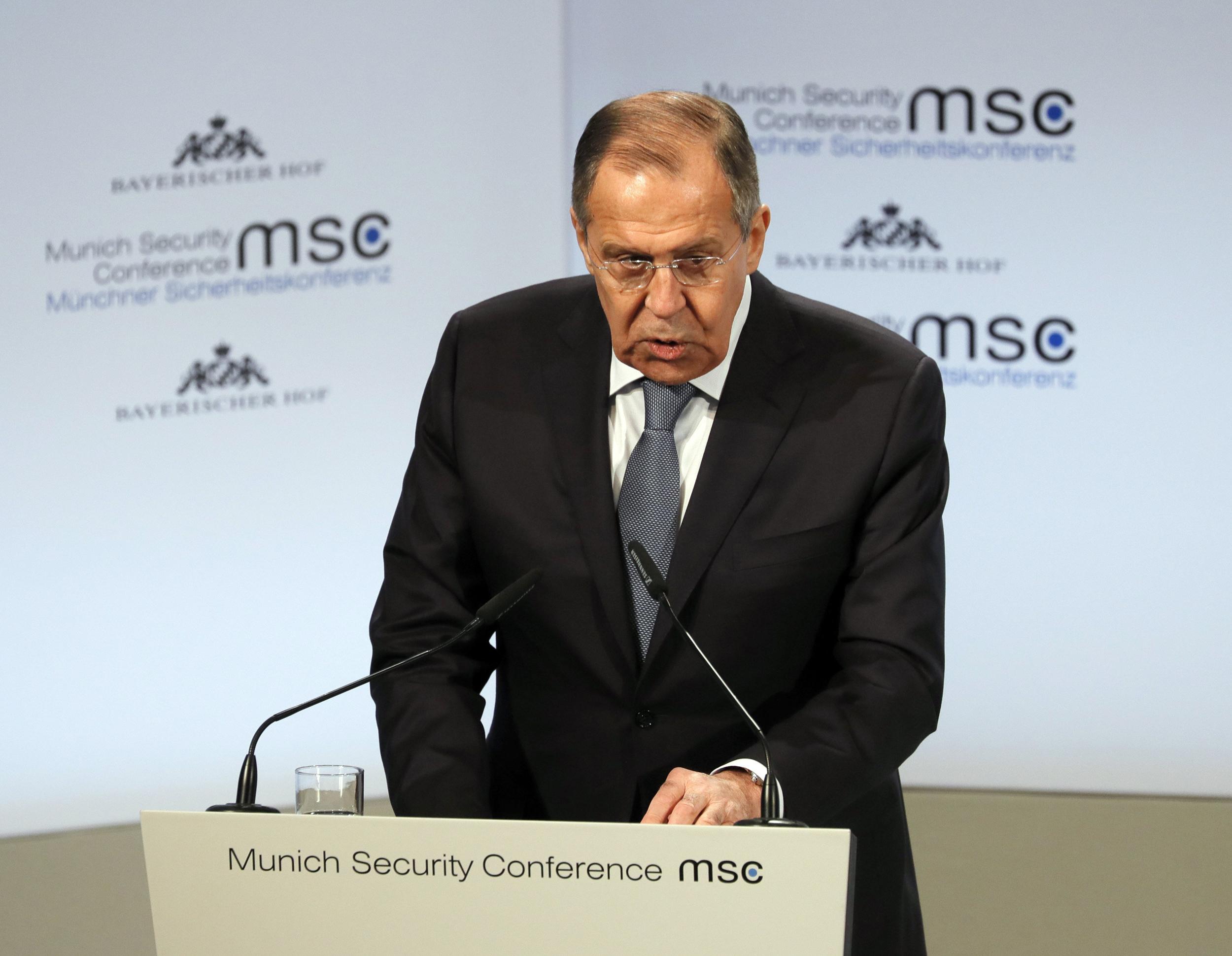 'Just blabber': Russia's Lavrov dismisses FBI indictments