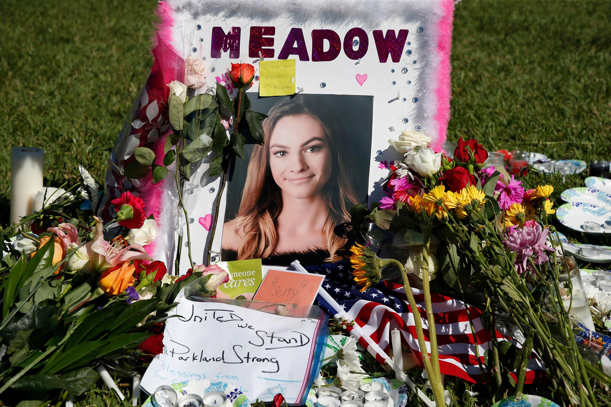 Image: Memorial for Meadow Pollack